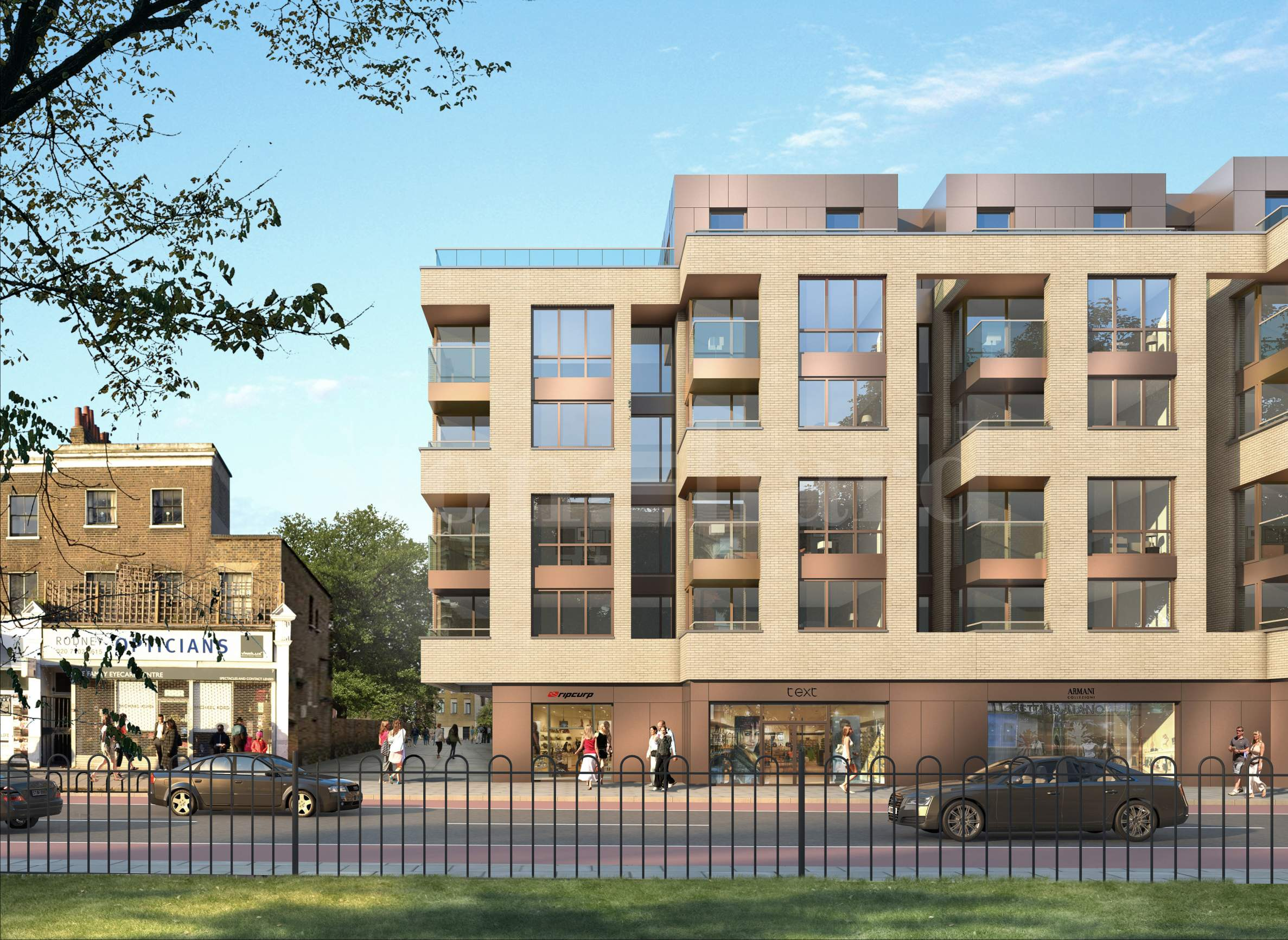 New-build apartments with direct views of Camberwell Green2 - Stonehard