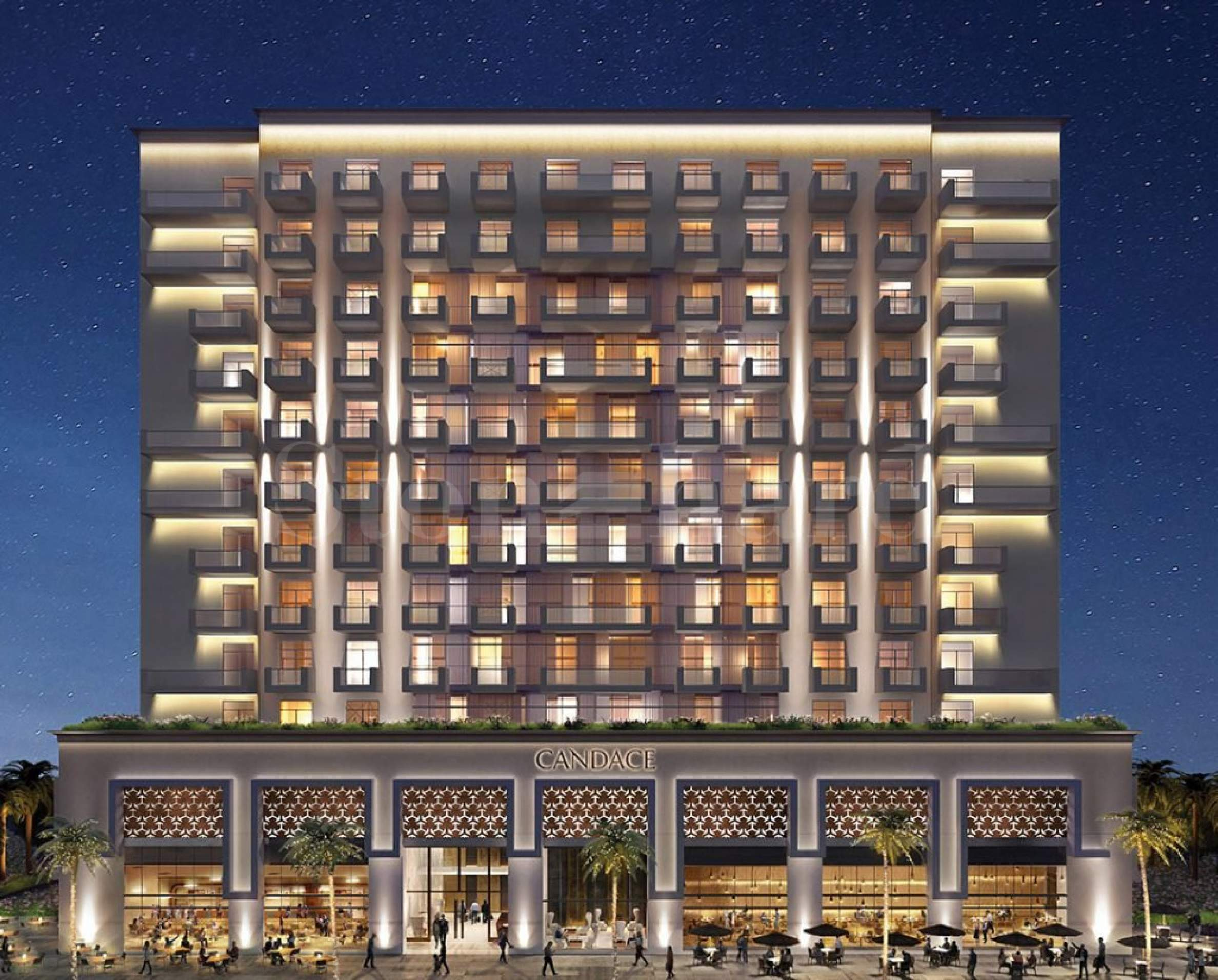 Serviced apartments in Al Furjan business district2 - Stonehard