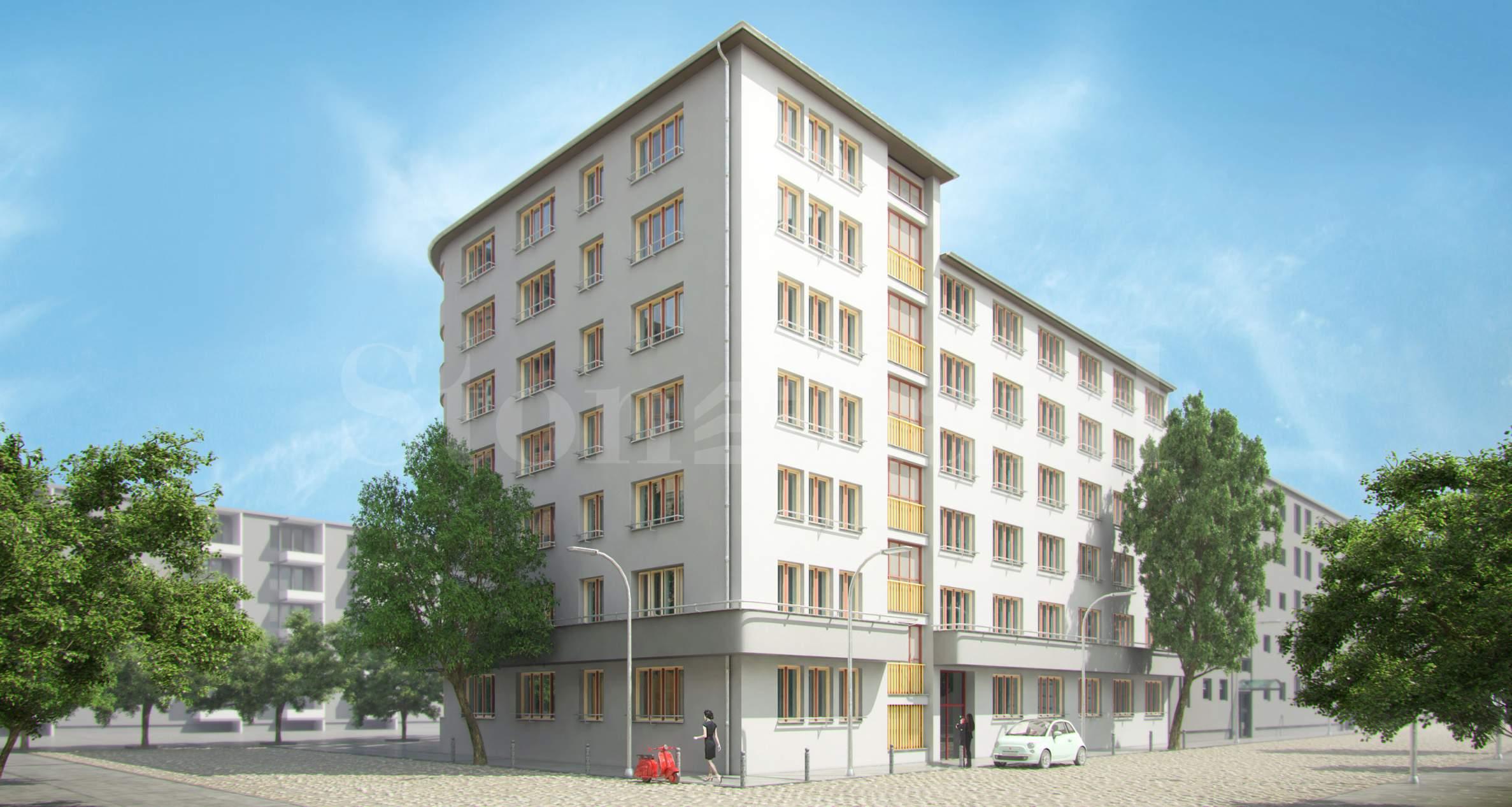 Апартаменти в обновена сграда с историческо значение до паркове1 - Stonehard