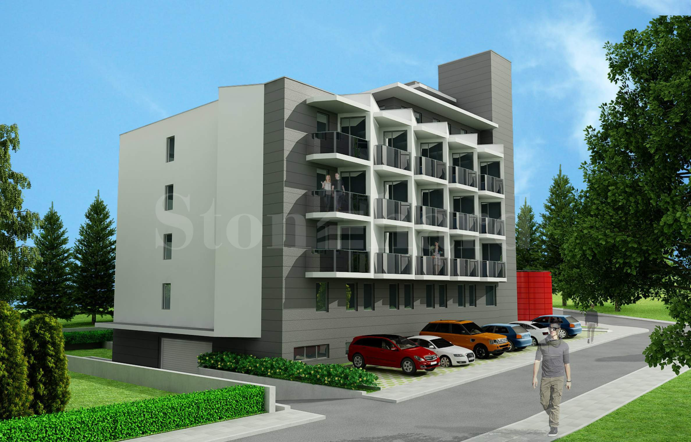 Модерна жилищна сграда на шест етажа в кв. Овча Купел1 - Stonehard