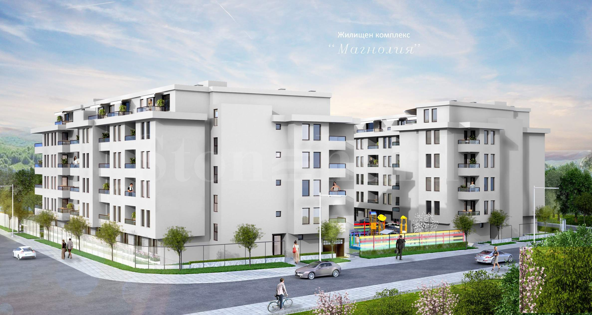 Spacious and modern apartments in a new residential complex next to NBU1 - Stonehard