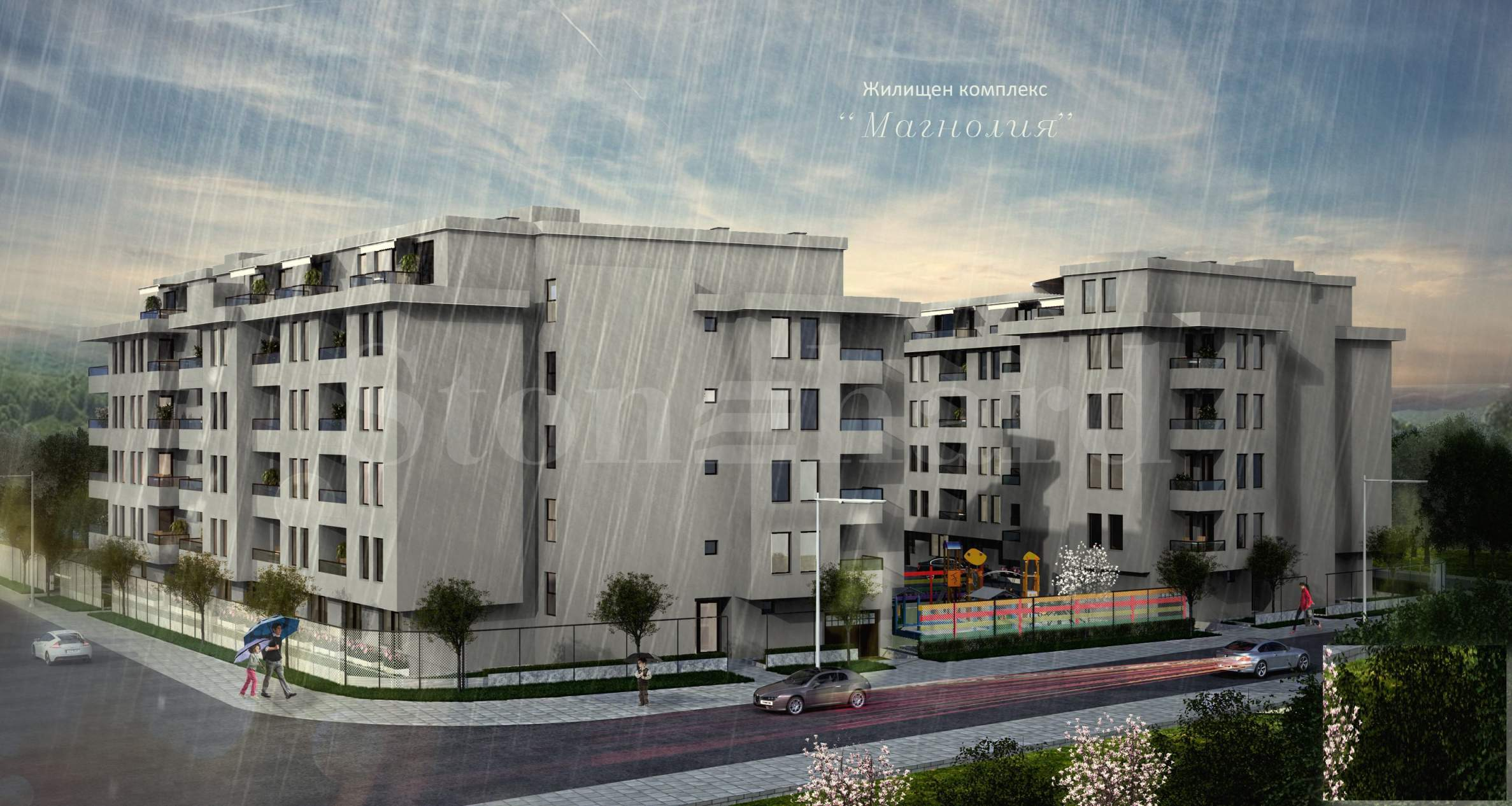 Spacious and modern apartments in a new residential complex next to NBU2 - Stonehard