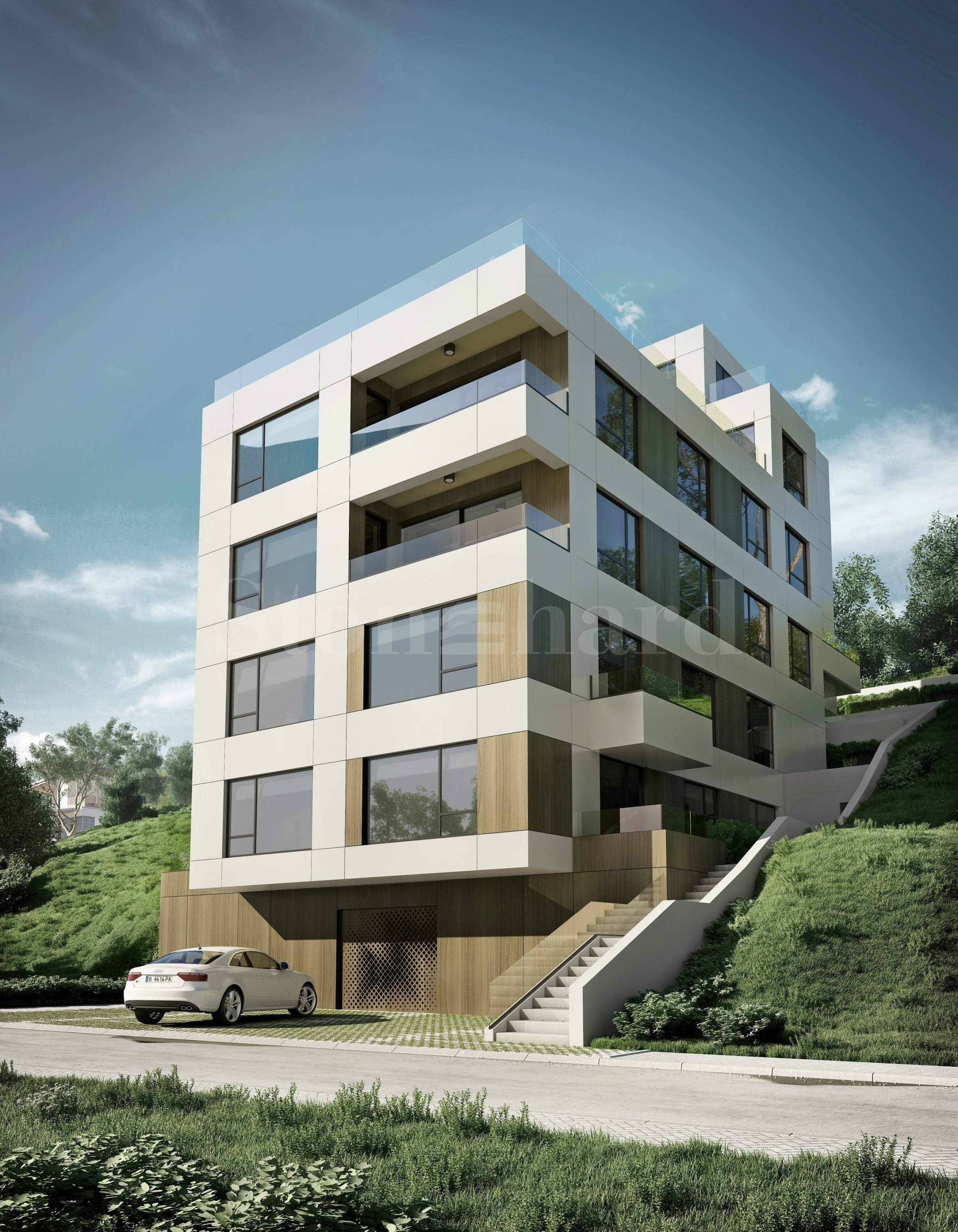Modern residential building in Briz district1 - Stonehard