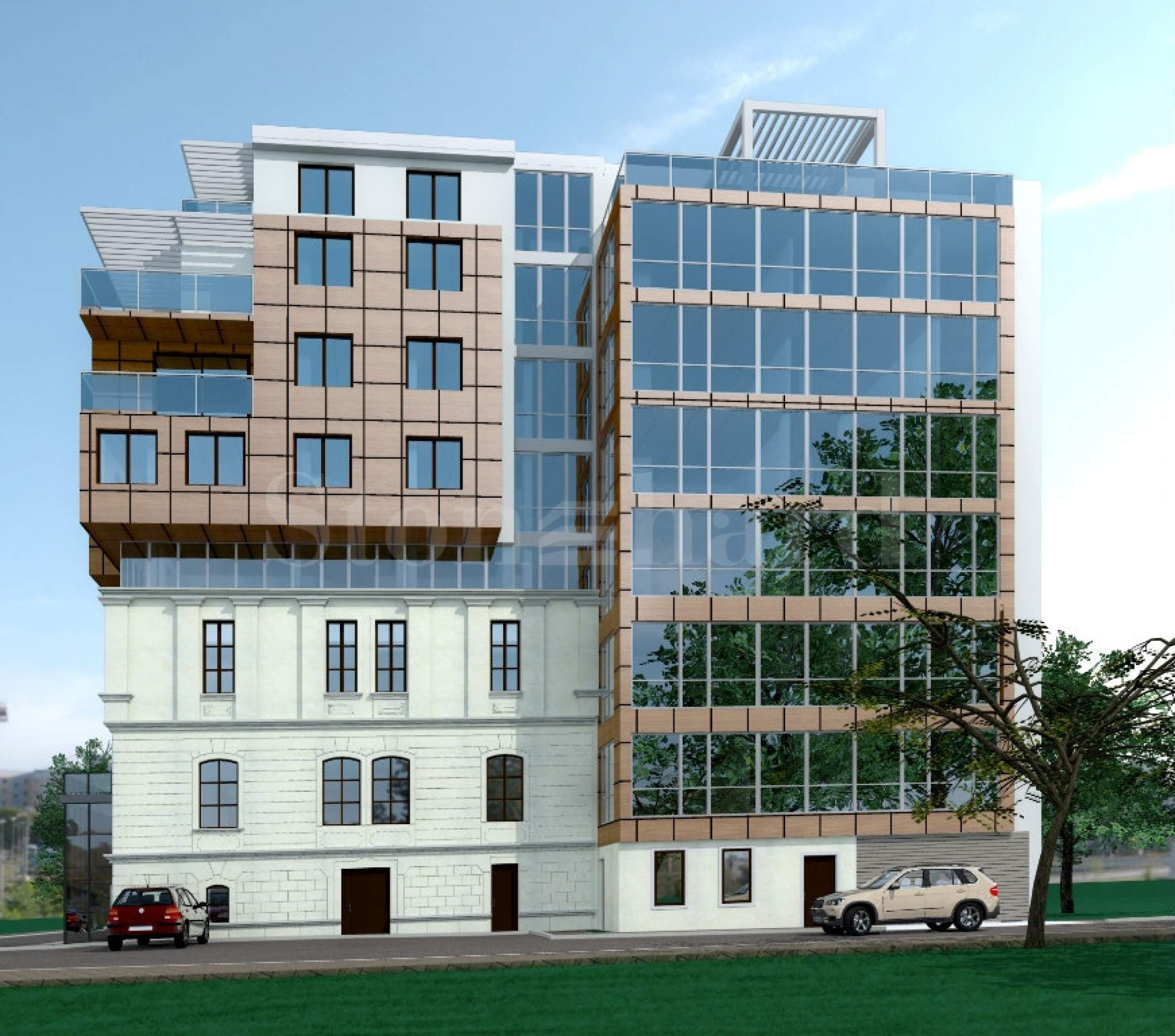 Apartments in a mixed use building in the city center1 - Stonehard