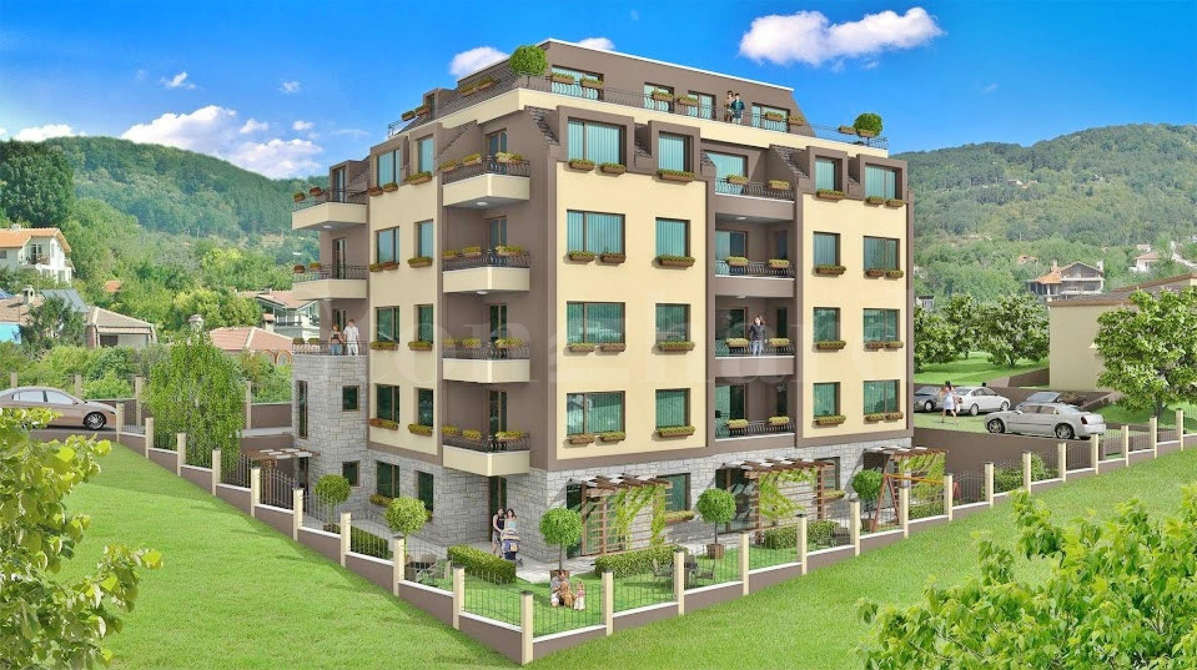 New apartments on a hill with panoramic sea view1 - Stonehard