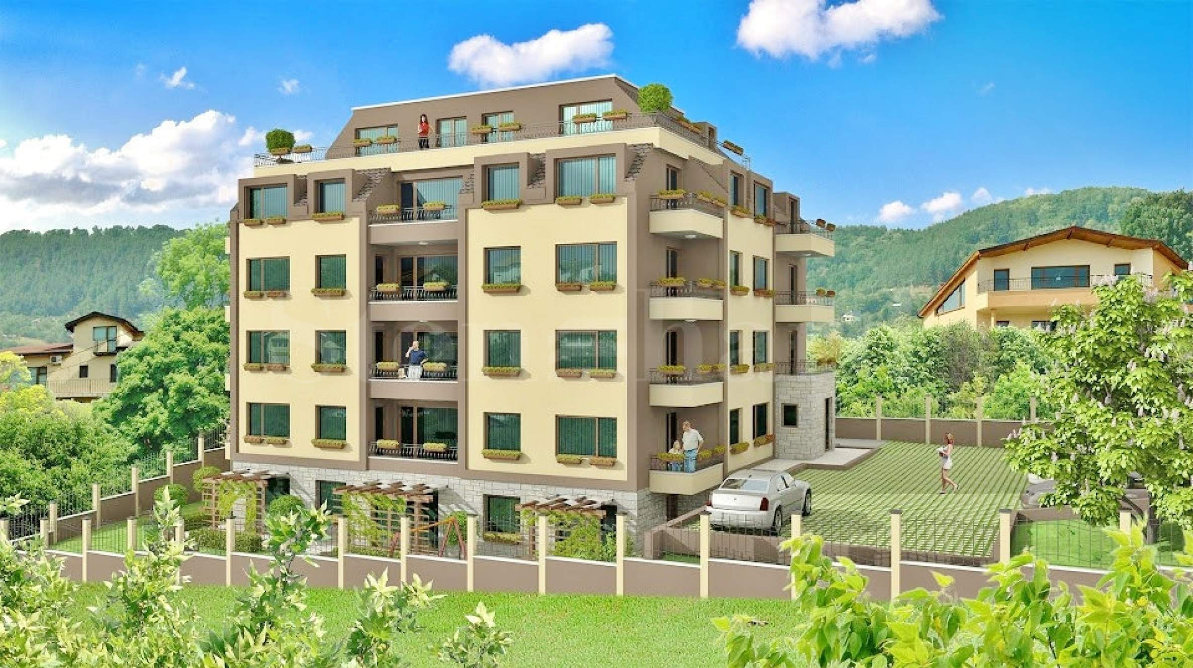 New apartments on a hill with panoramic sea view2 - Stonehard