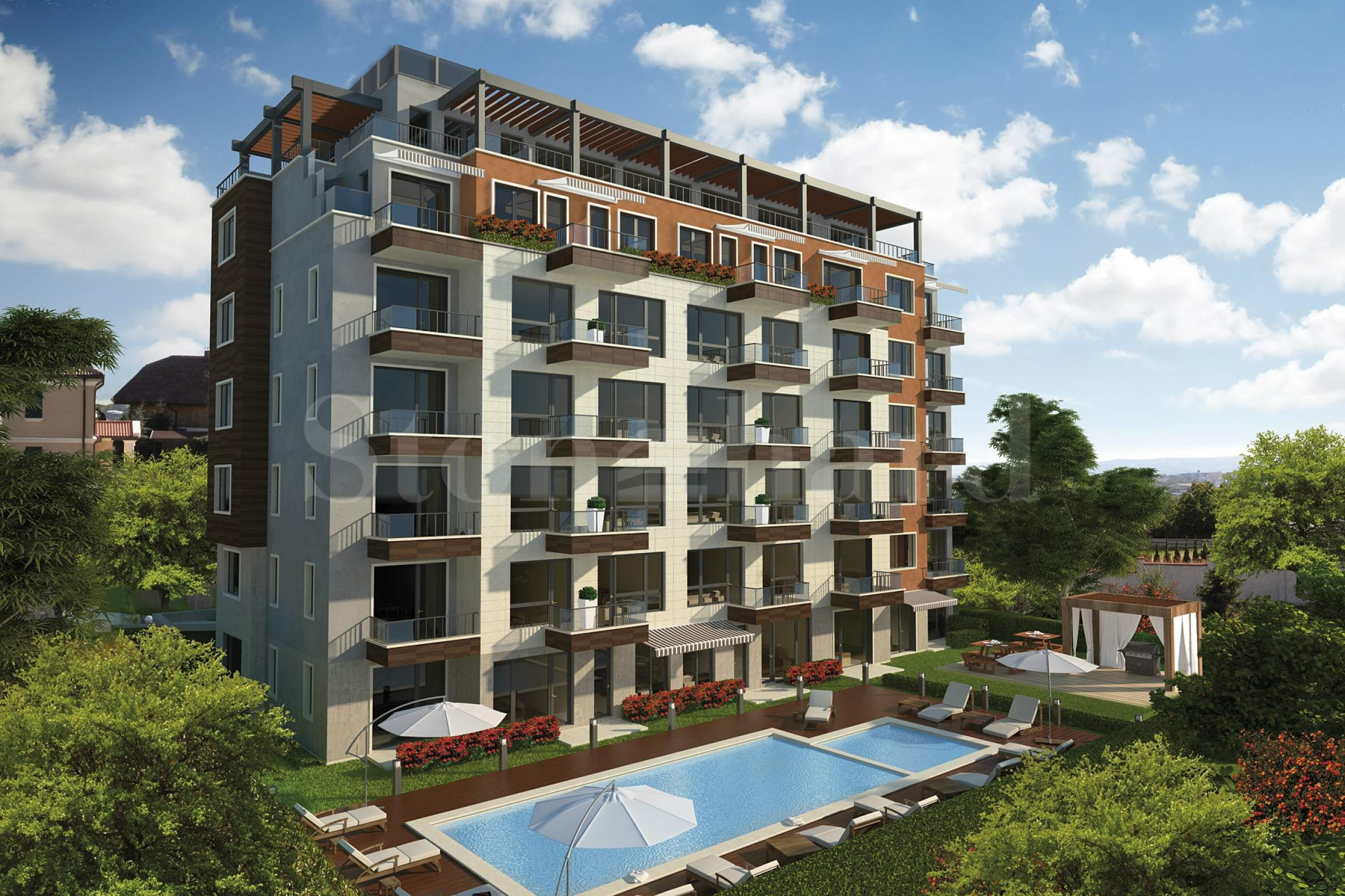 Elegant apartments in a luxury complex near beach1 - Stonehard