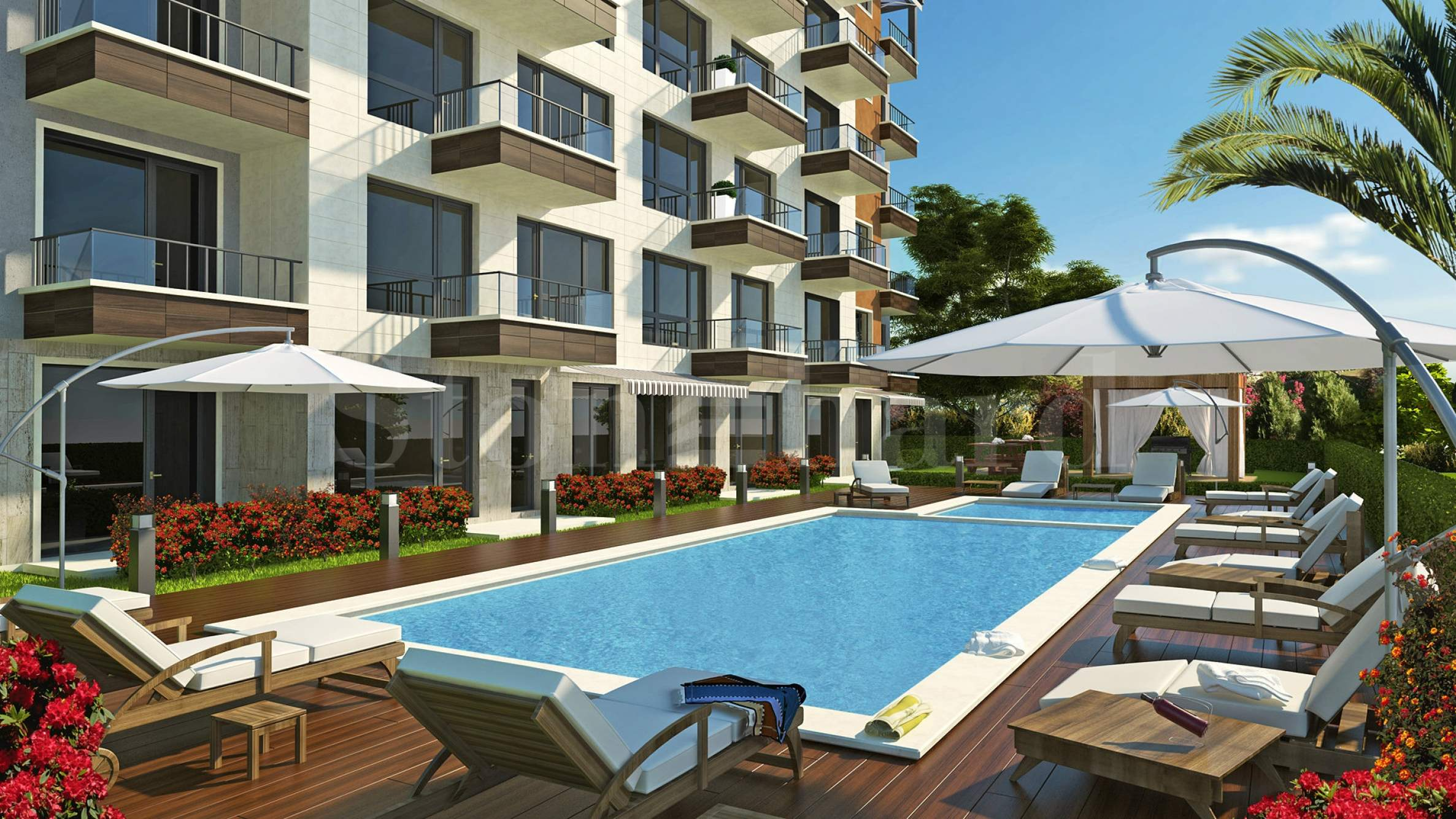 Elegant apartments in a luxury complex near beach2 - Stonehard