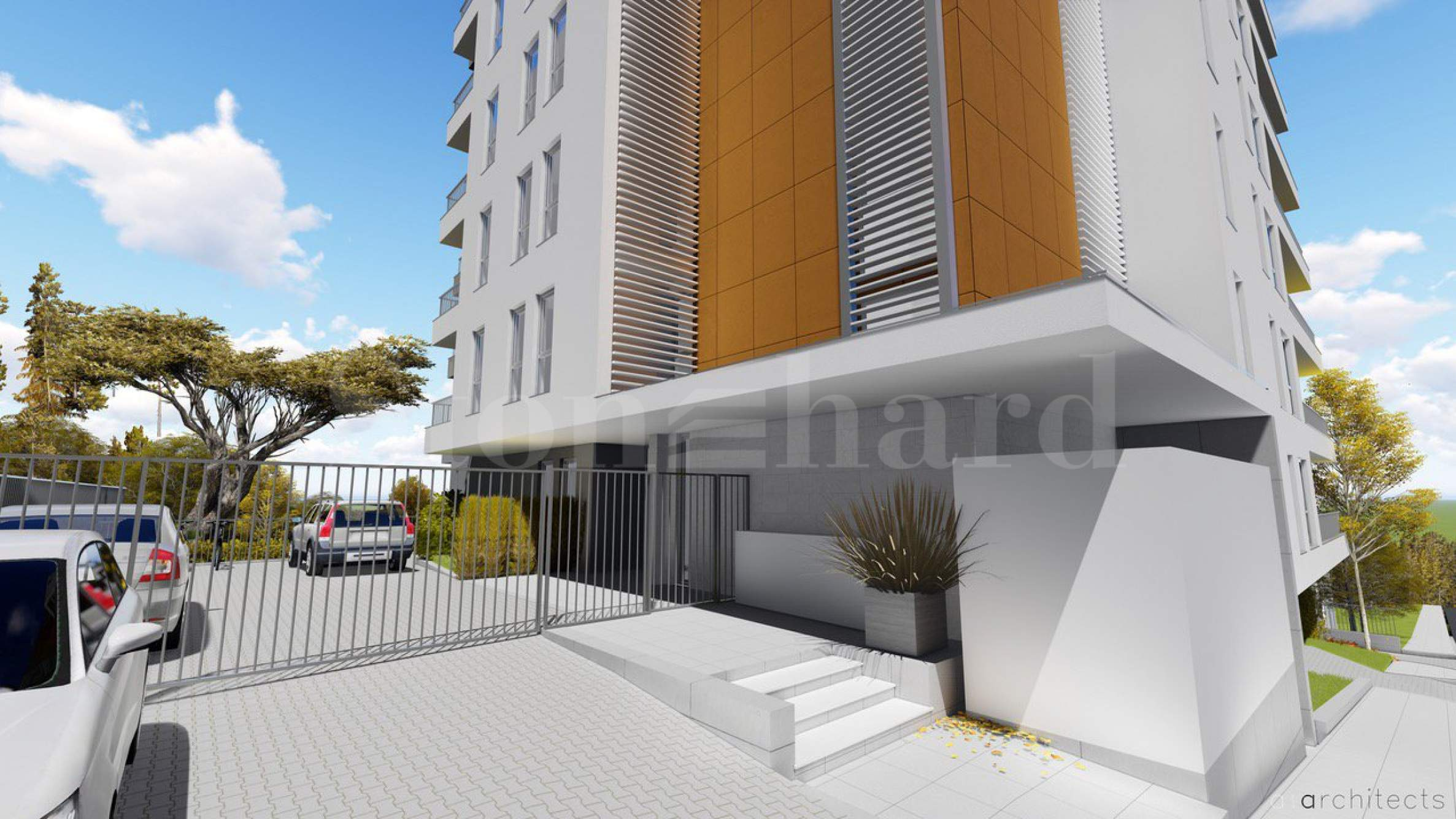 New apartments with sea view in Breeze quarter2 - Stonehard