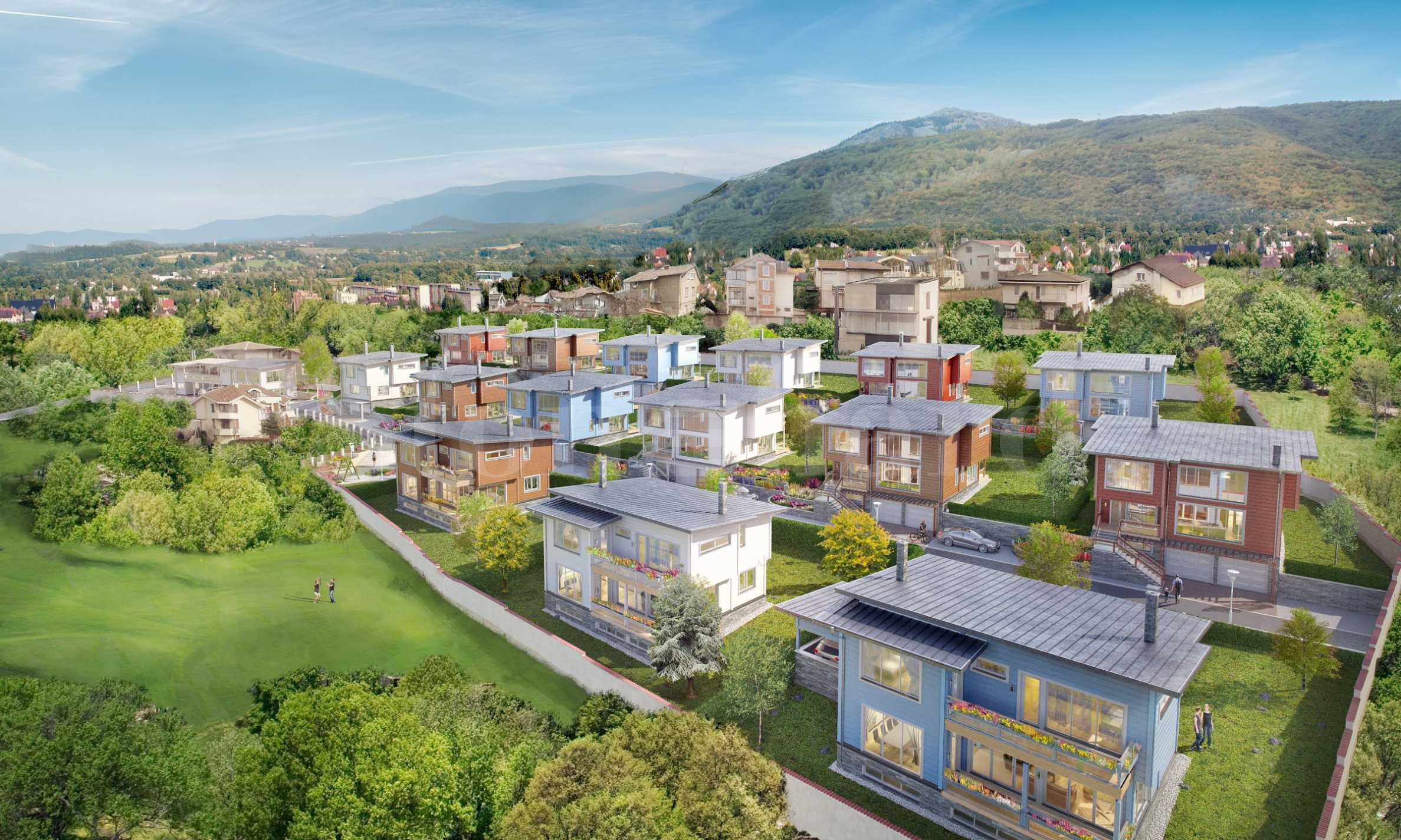 Luxury gated complex of ecological houses at the foot of Vitosha Mountain1 - Stonehard