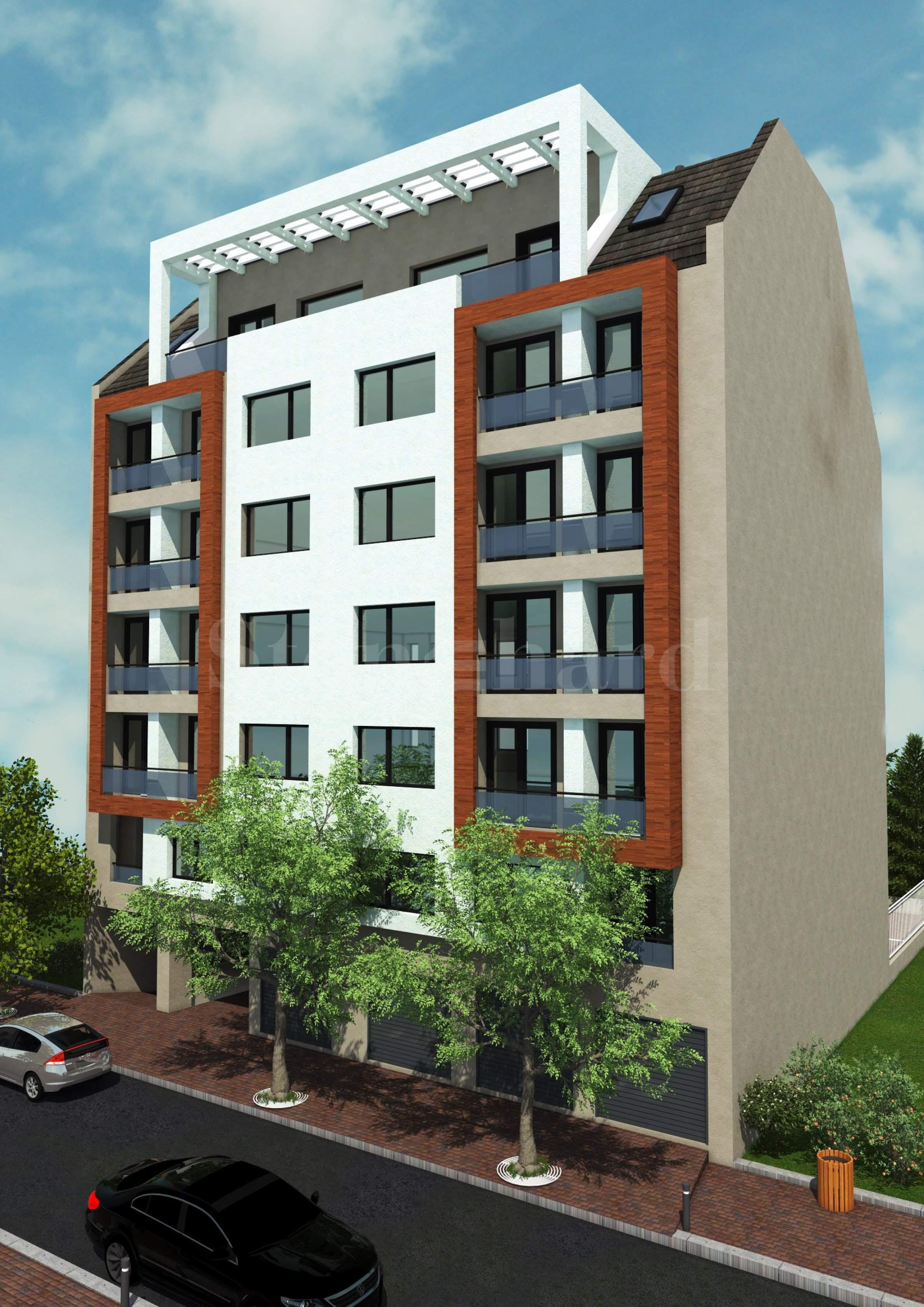 Нова жилищна сграда в кв. Разсадника1 - Stonehard