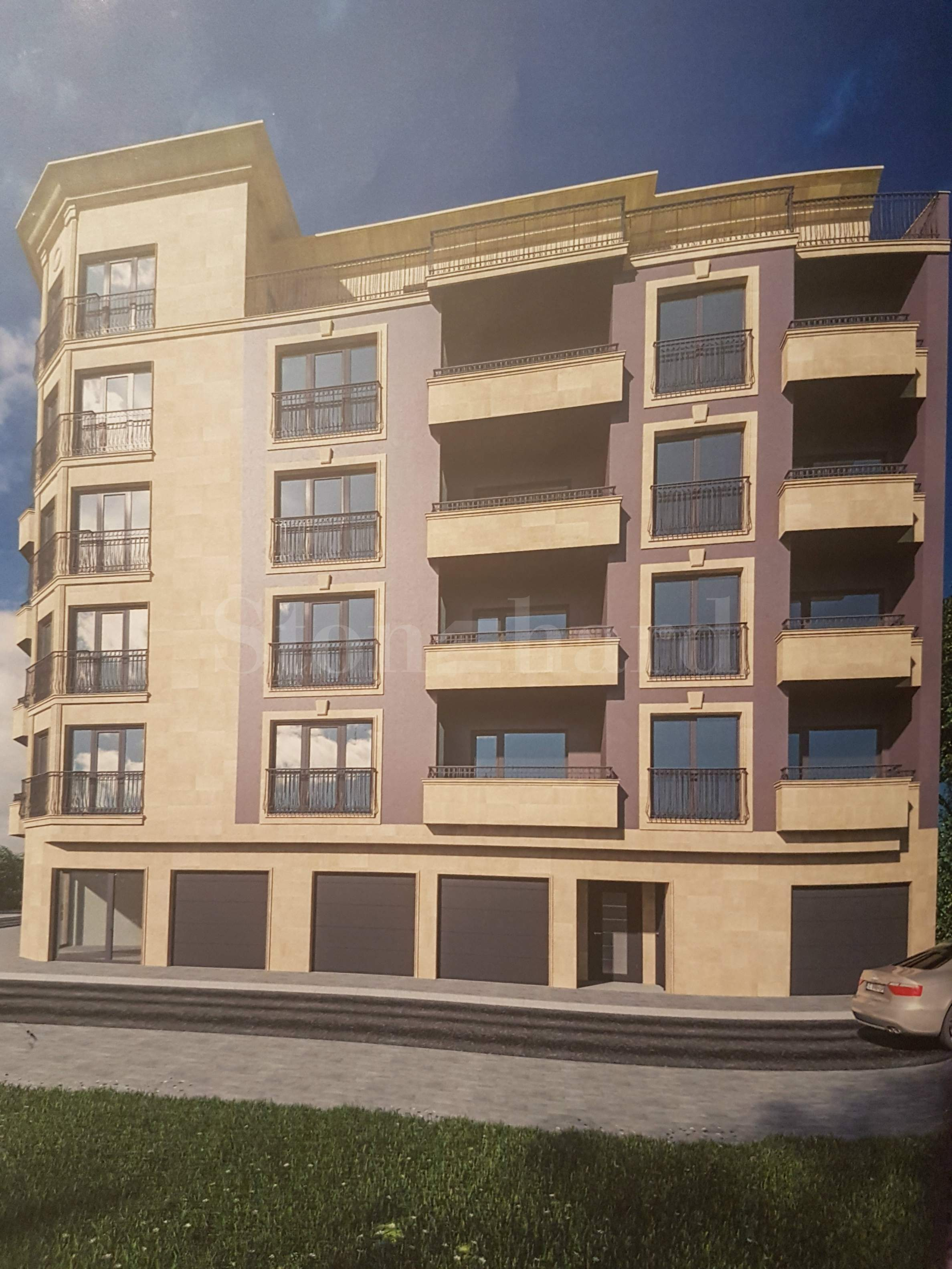 Modern apartments near South Park, Mall Paradise, metro station Vitosha2 - Stonehard