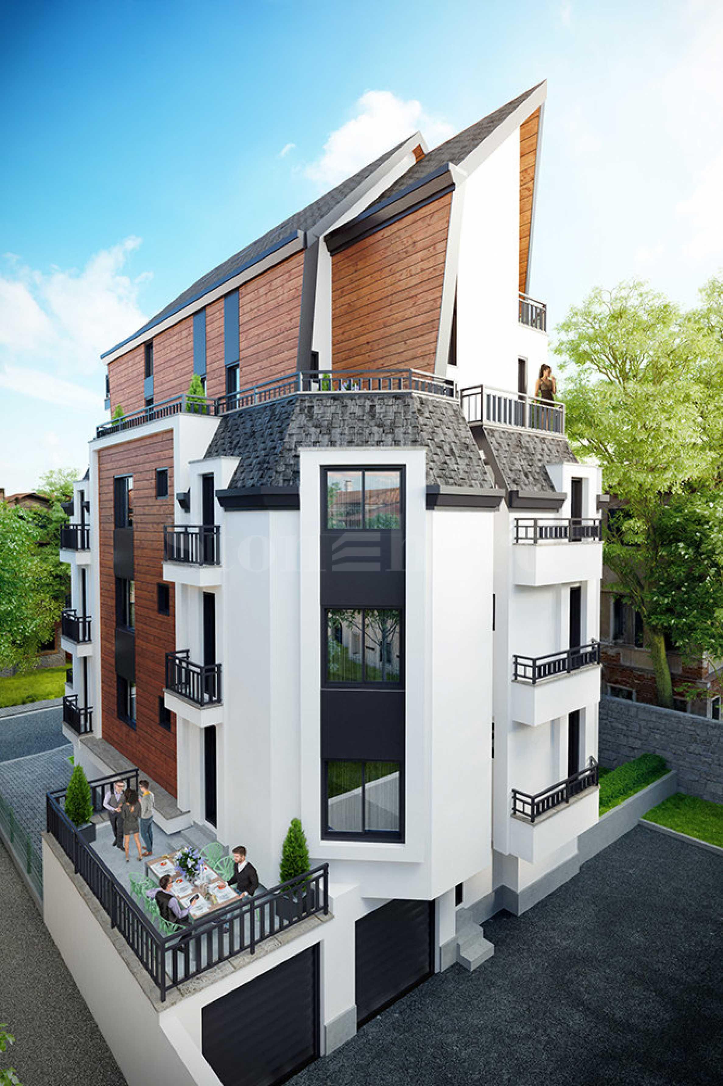 Бутикова сграда с топ локация в кв. Лозенец1 - Stonehard