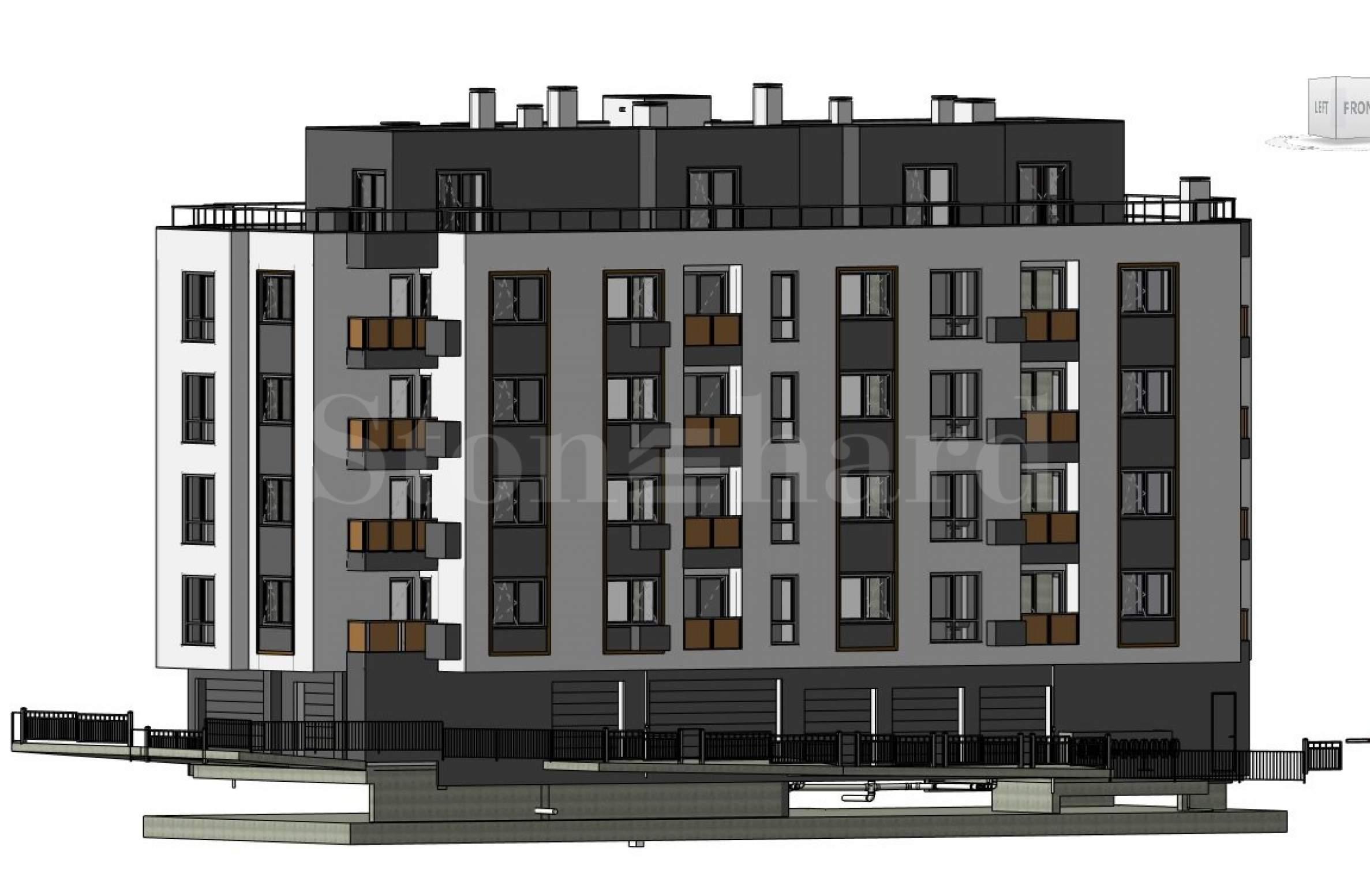 Хубава нова сграда в строеж, с просторни апартаменти в предпочитан район 1 - Stonehard