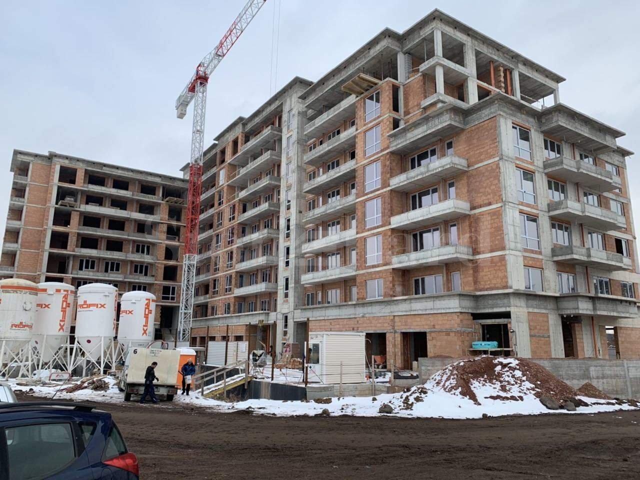 Последни жилища в сграда с напреднало строителство до Бизнес парк София1 - Stonehard