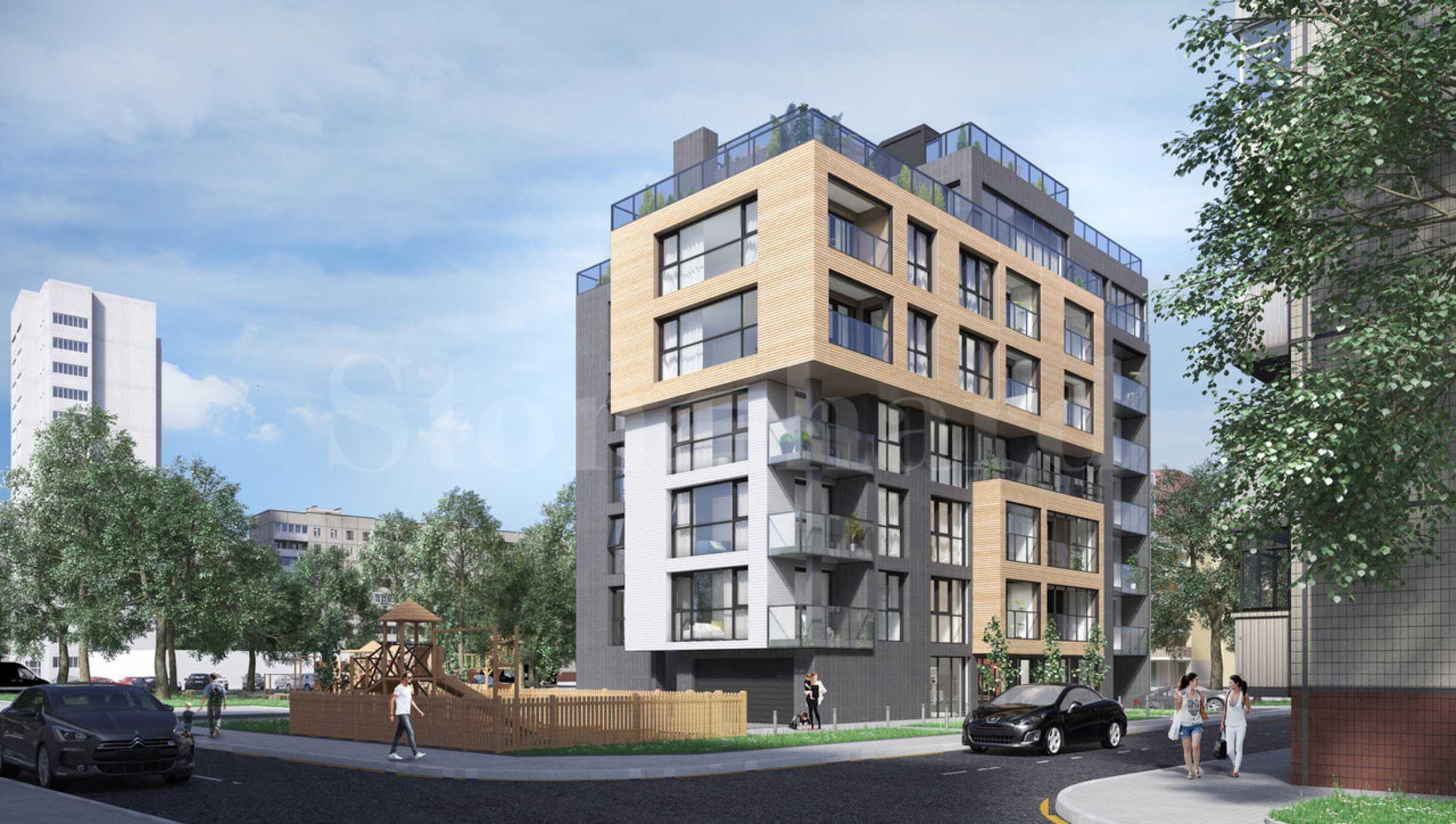 Многофункционална сграда с отлично местоположение, кв. Борово1 - Stonehard