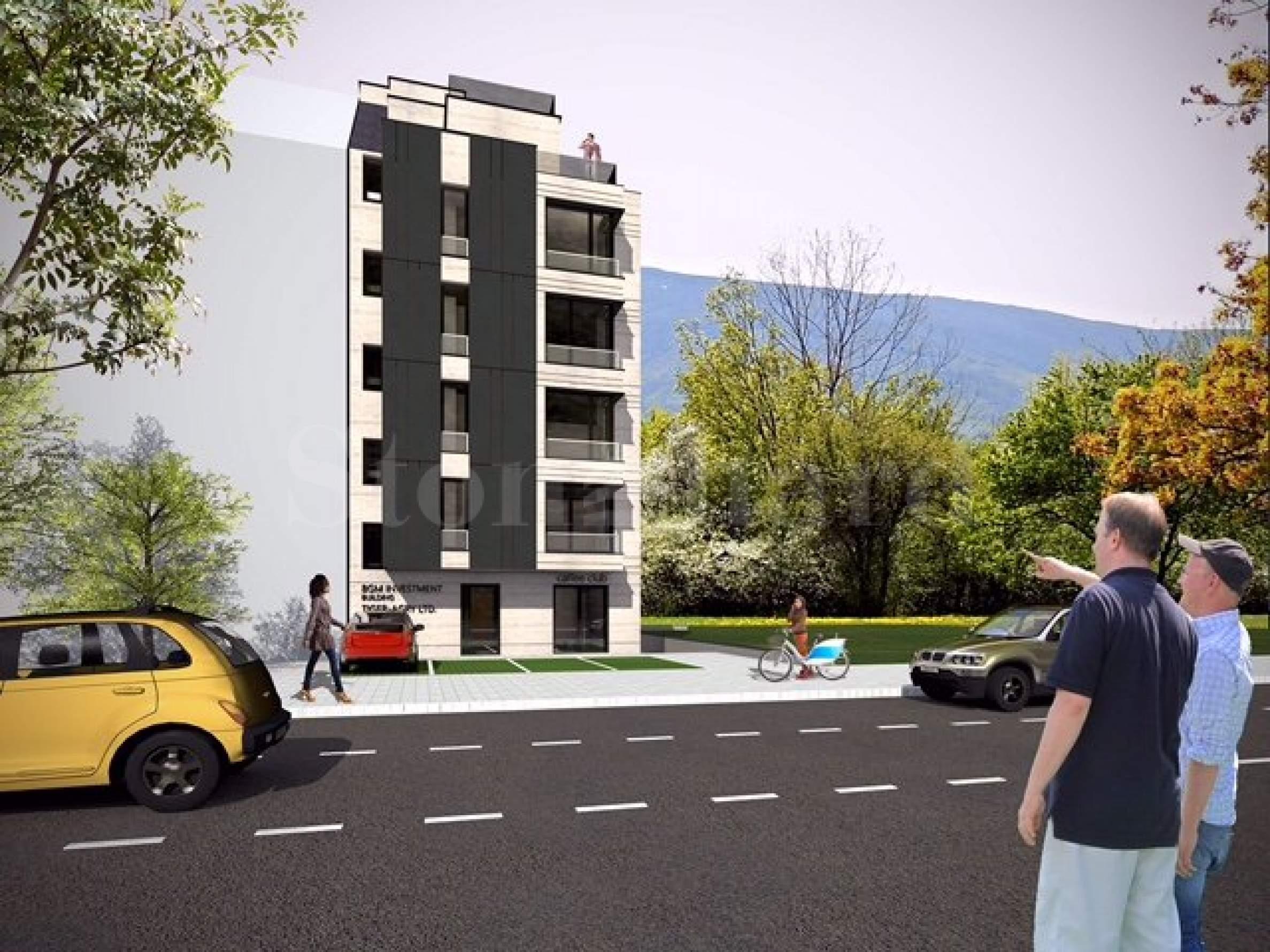 Елегантна жилищна сграда сред зеленина, в елитен квартал на София1 - Stonehard