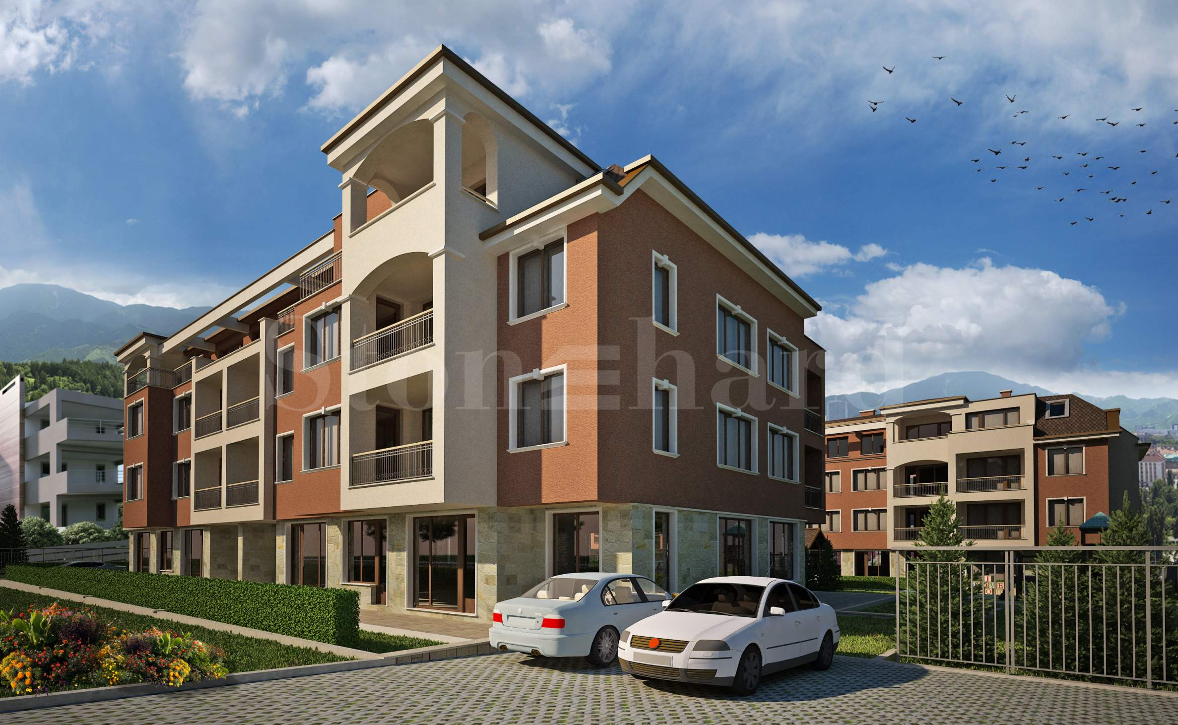 Apartments in a gated complex near Students' town2 - Stonehard