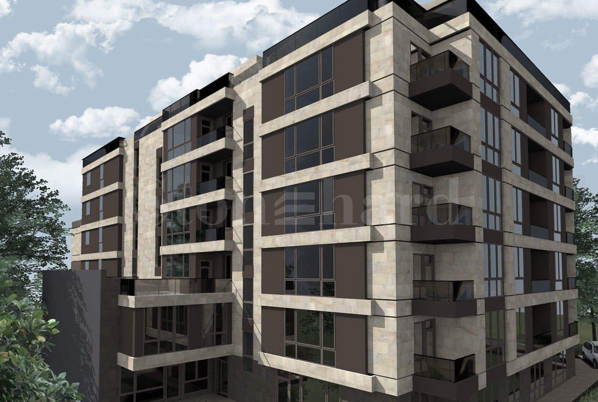 Модерна сграда с жилища и офиси до бул. България2 - Stonehard