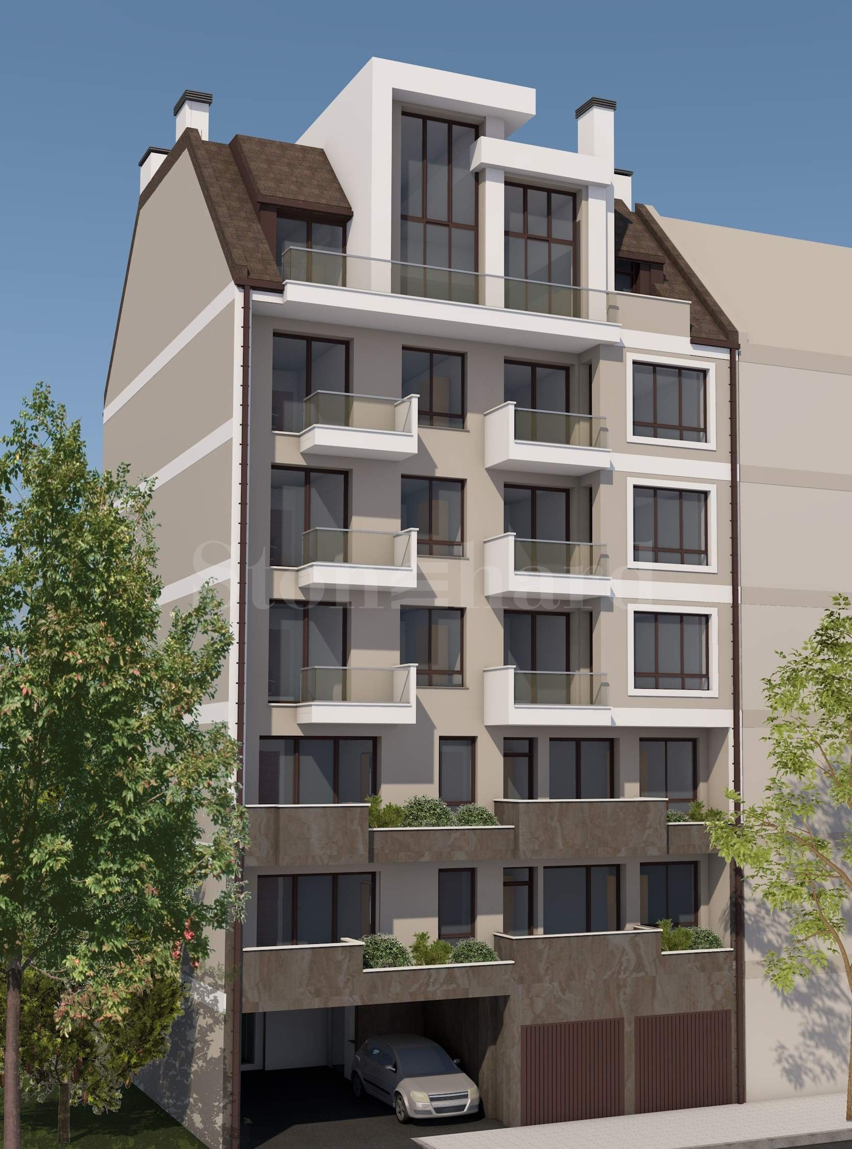 New building from a reputable investor in the central part of Sofia city1 - Stonehard