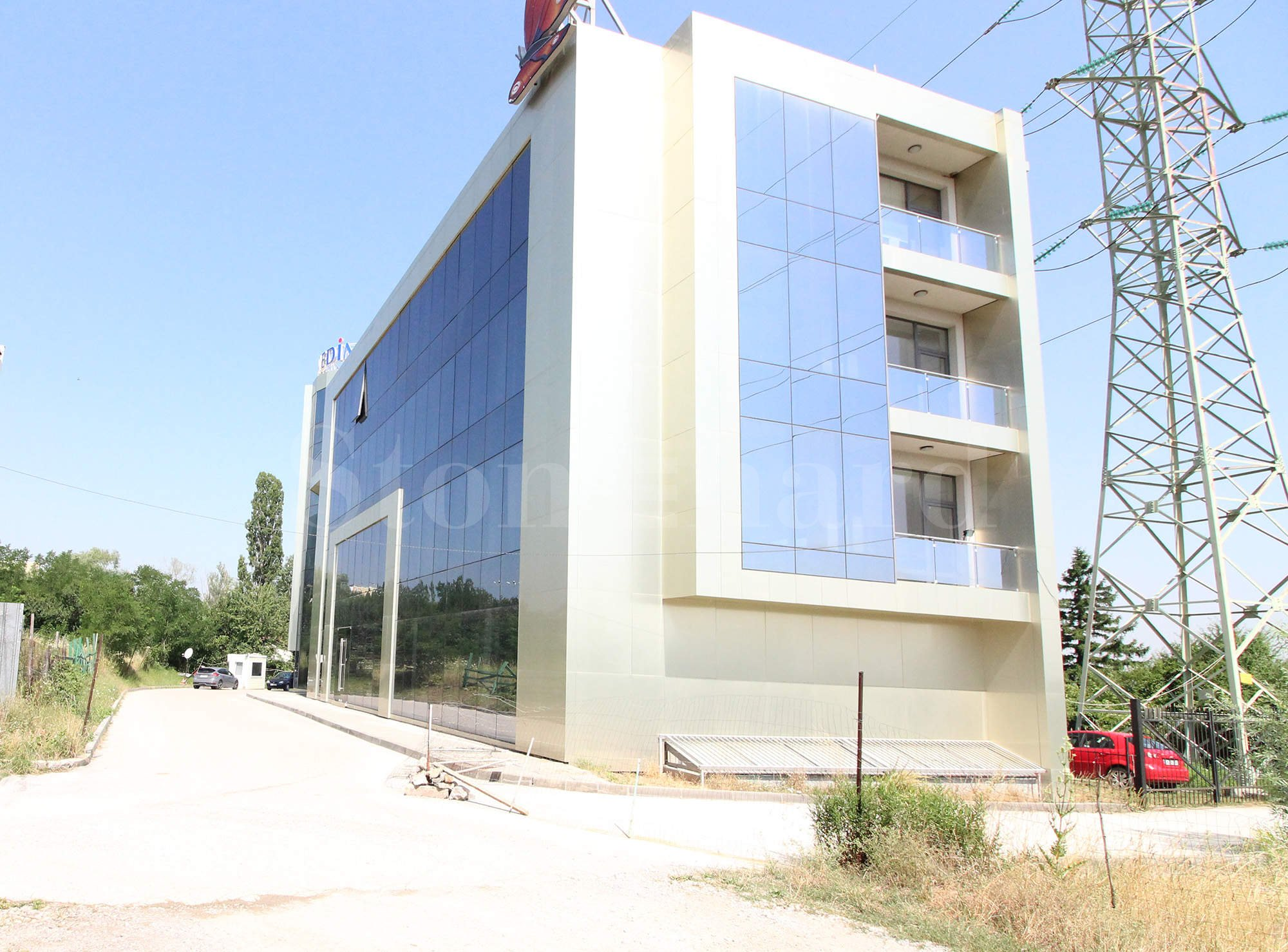 Modern office building with unique location in Manastirski livadi District2 - Stonehard