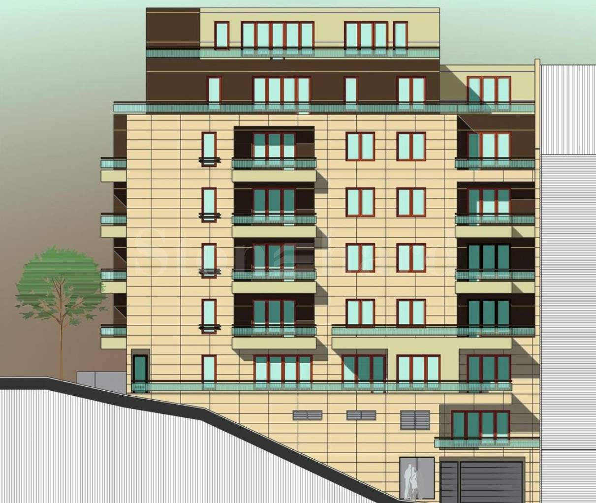Newly constructed building with excellent location in Slatina District2 - Stonehard
