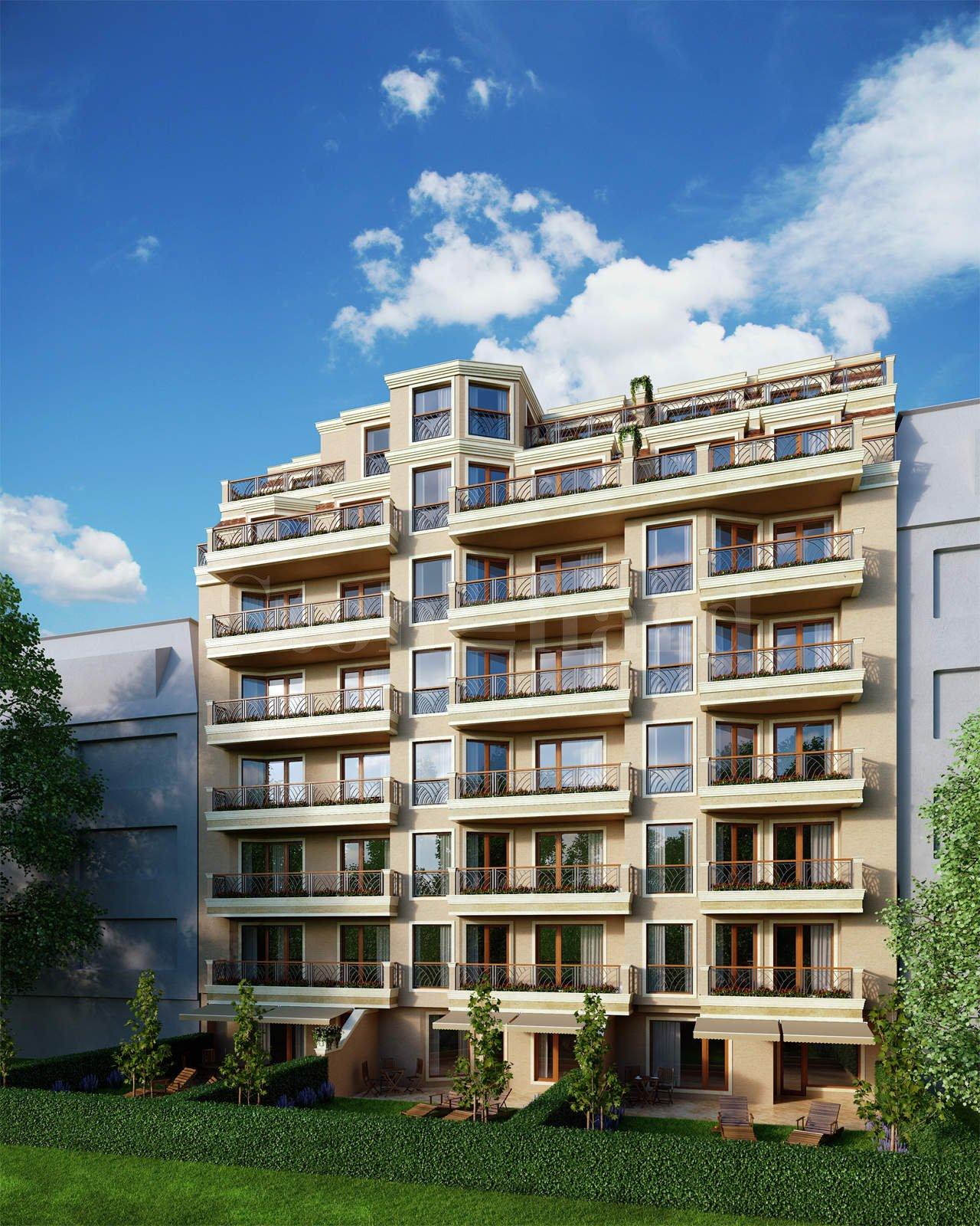 Modern residential building with underground parking area near Tsar Boris III Blvd.1 - Stonehard