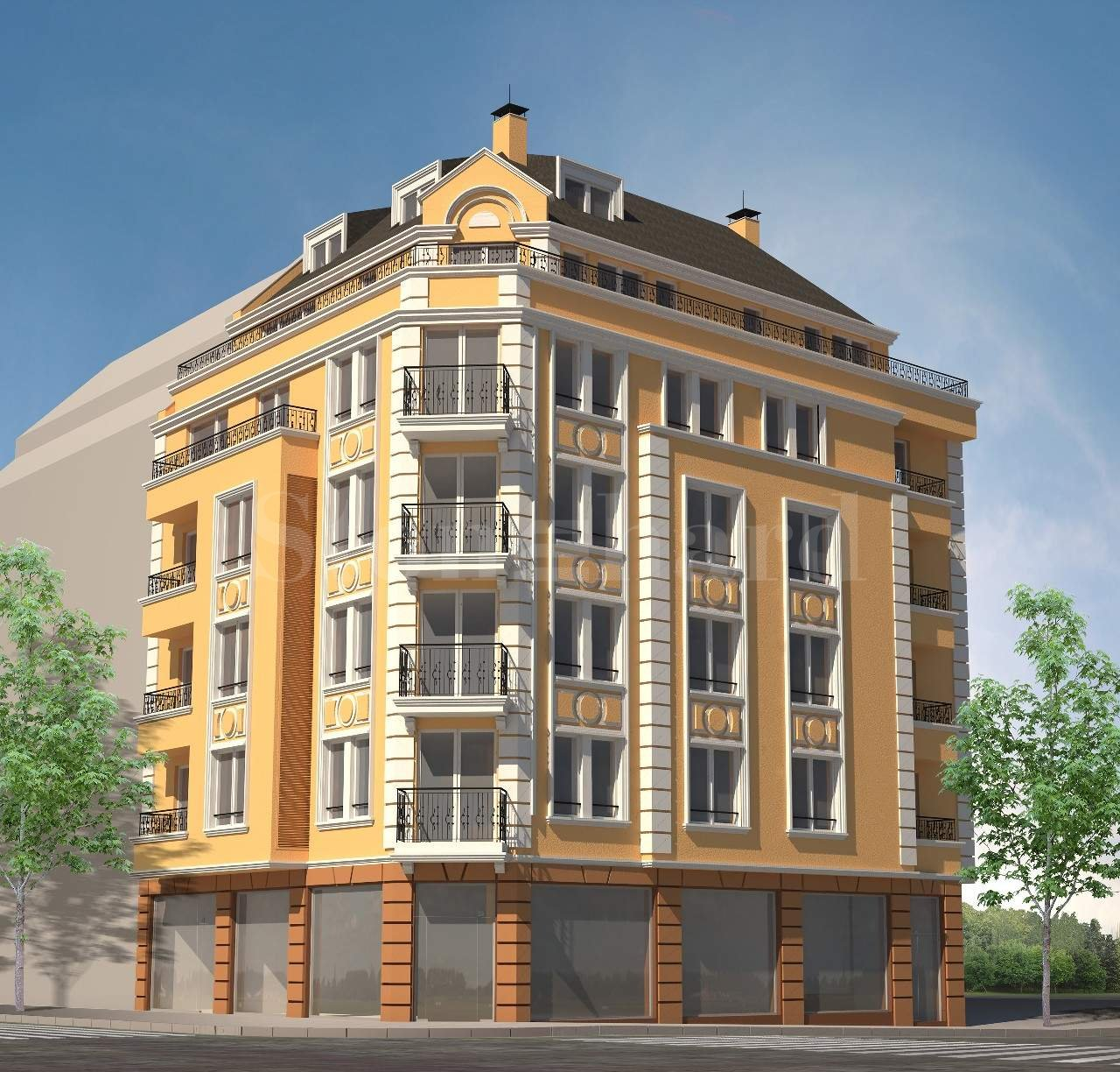 Stylish residential building in the central part of Sofia1 - Stonehard