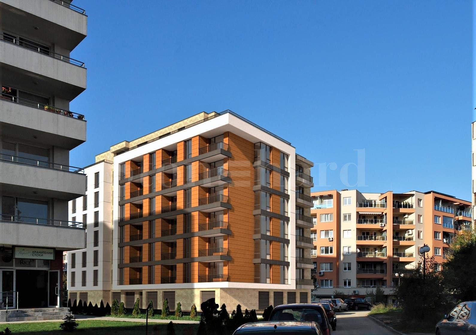 Нова жилищна сграда пред завършване в кв. Студентски град2 - Stonehard