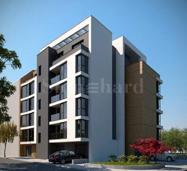Модерна жилищна сграда с изчистен дизайн до Мол Парадайз Център2 - Stonehard