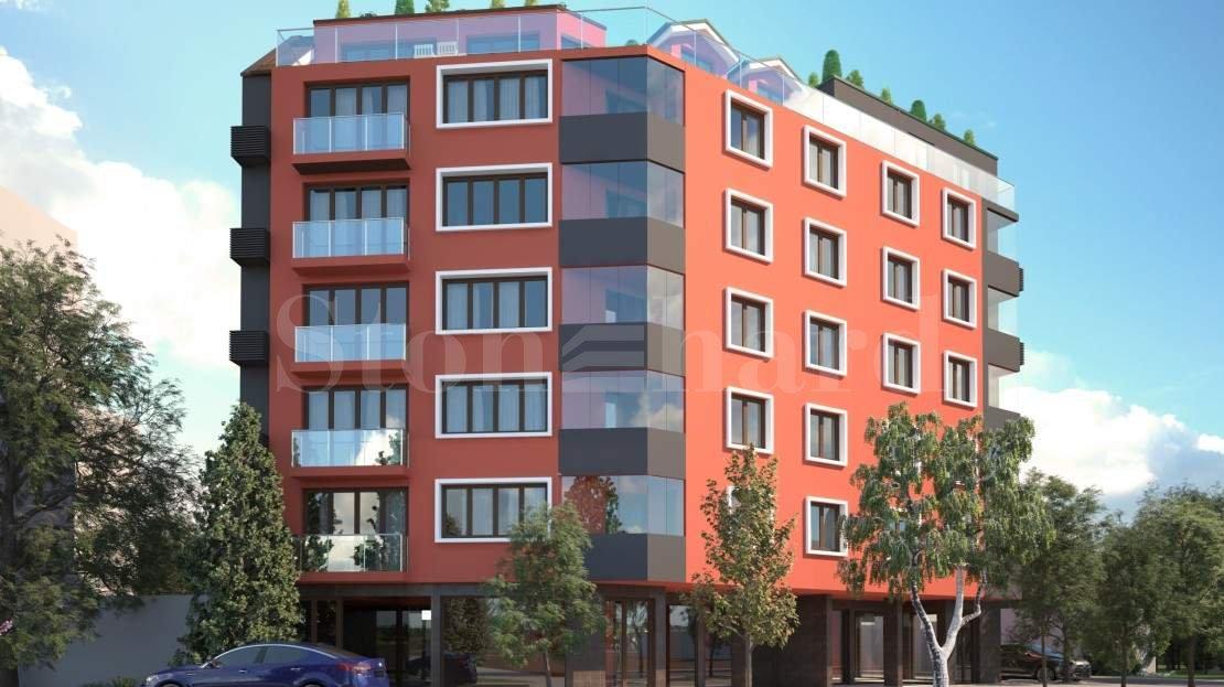 Модерна нова сграда с апартаменти в кв. Разсадника1 - Stonehard