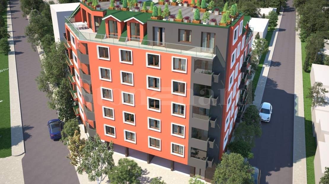 Модерна нова сграда с апартаменти в кв. Разсадника2 - Stonehard