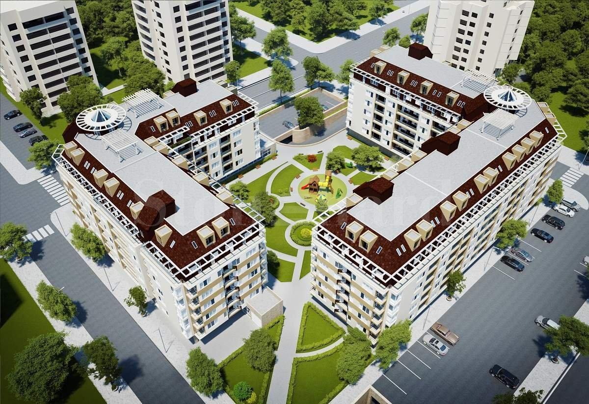 Новостроящ се жилищен комплекс от две сгради в кв. Младост 41 - Stonehard
