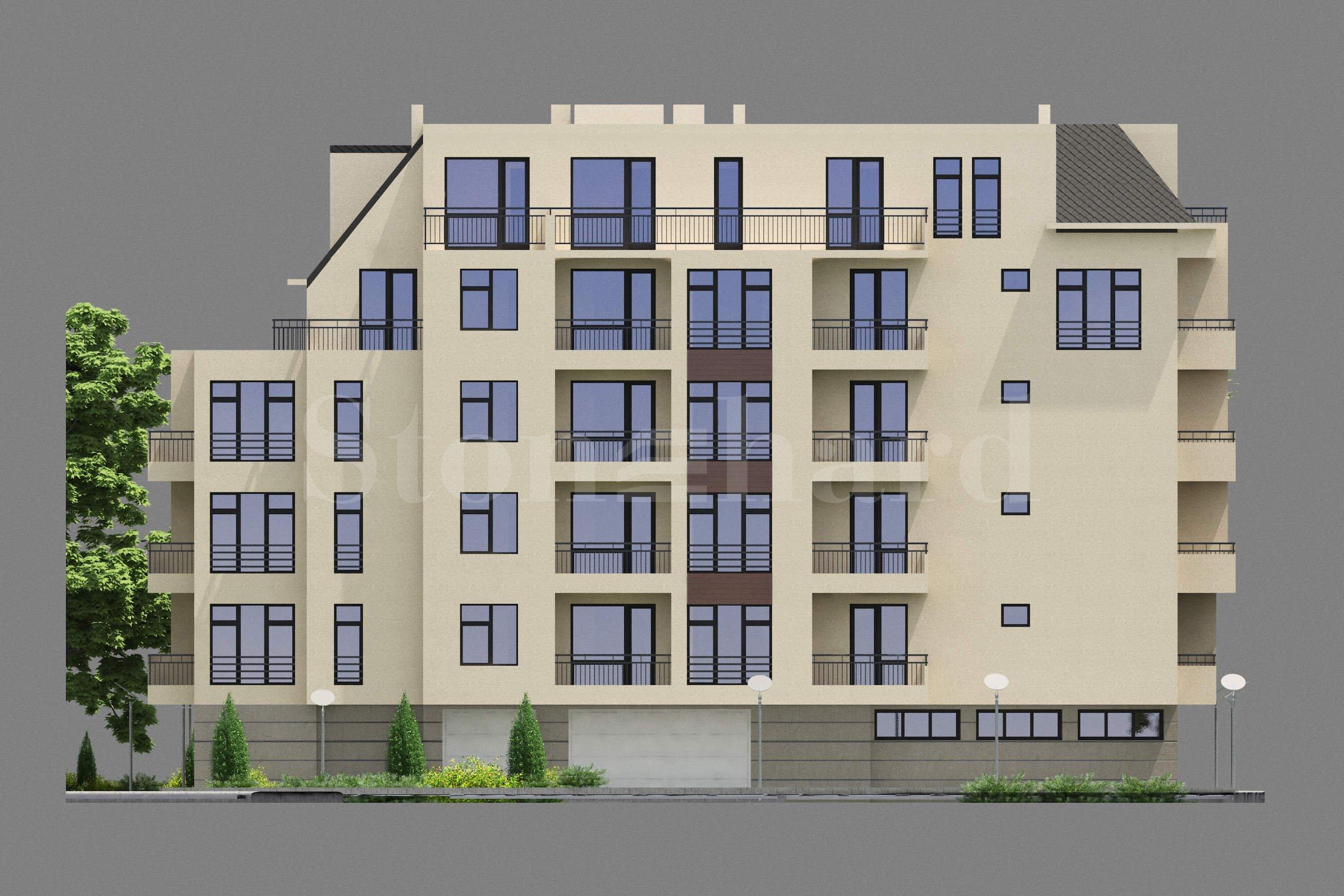 Модерна жилищна сграда с гаражи и паркоместа 2 - Stonehard