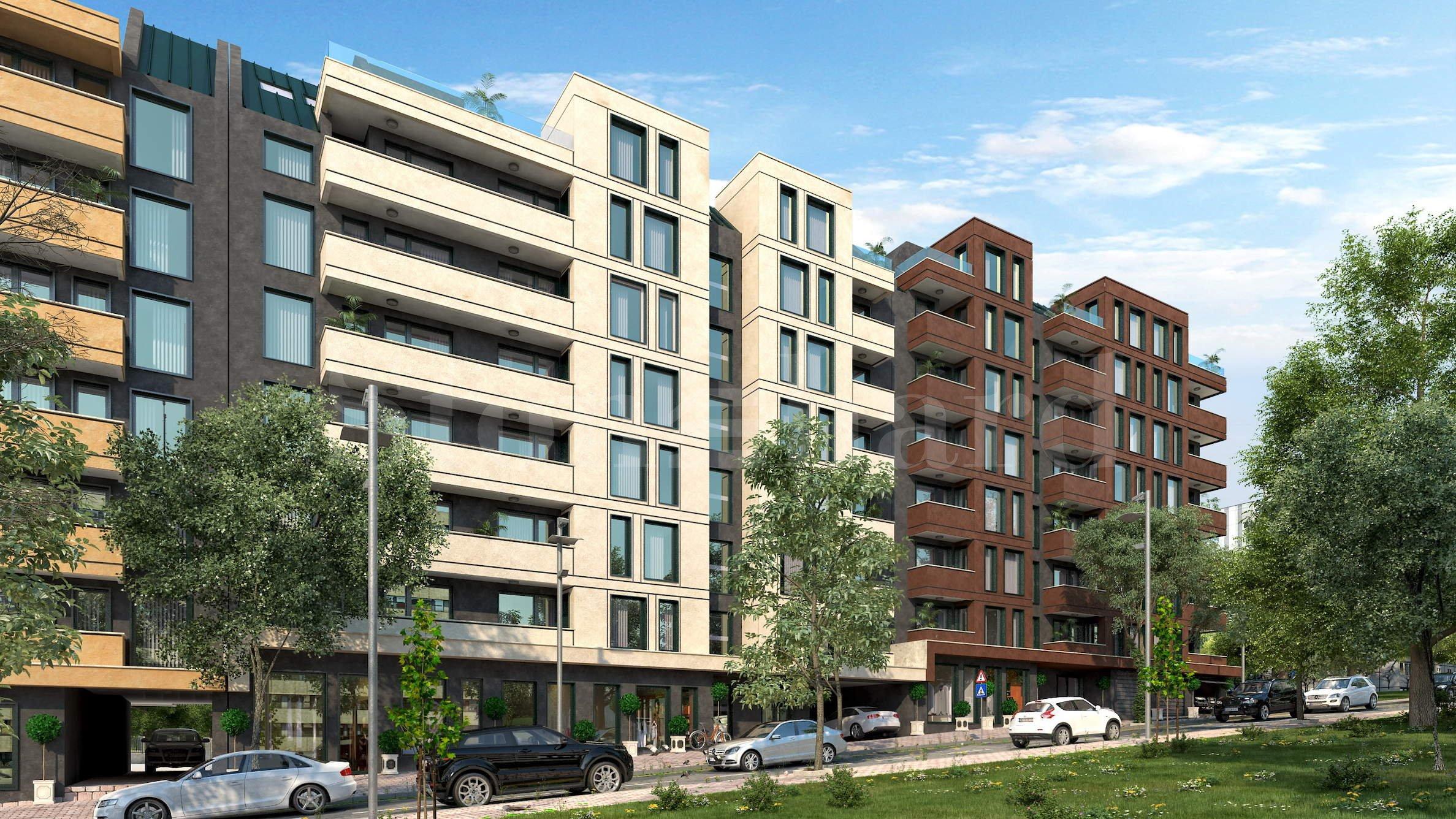 Нова жилищна сграда с апартаменти и гаражи, част от голям комплекс2 - Stonehard