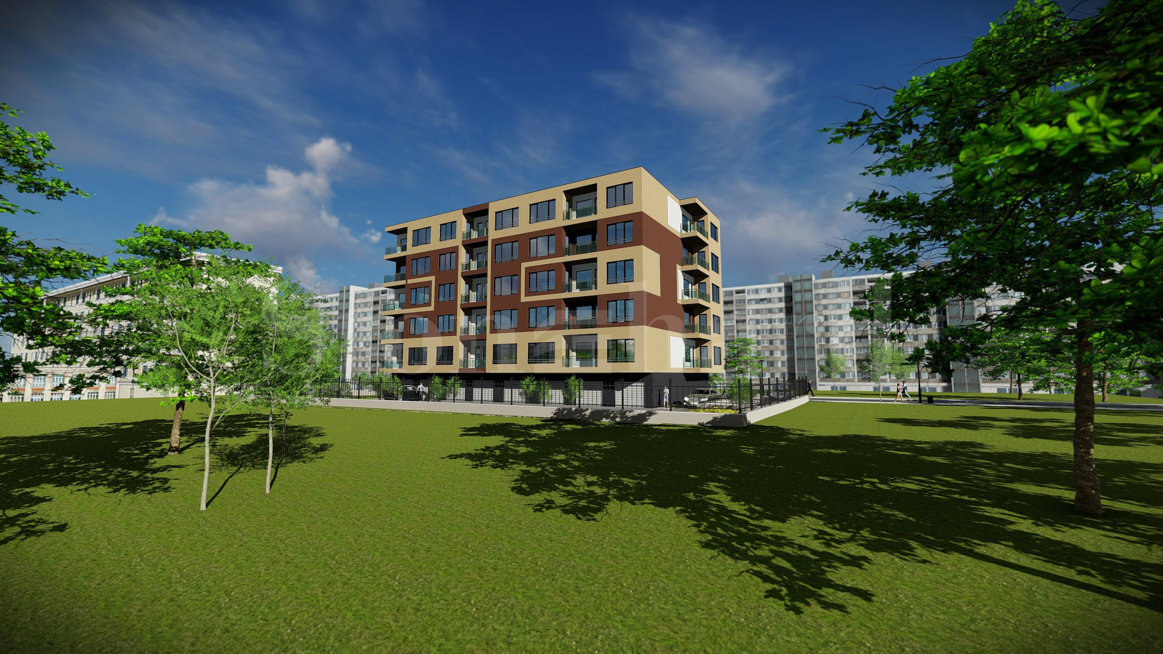 New residential building under construction in Sofia city2 - Stonehard