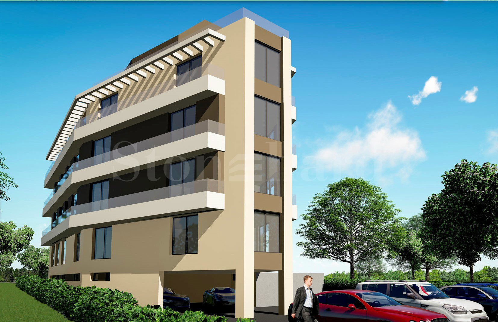 New residential building in an attractive district of Sofia city2 - Stonehard