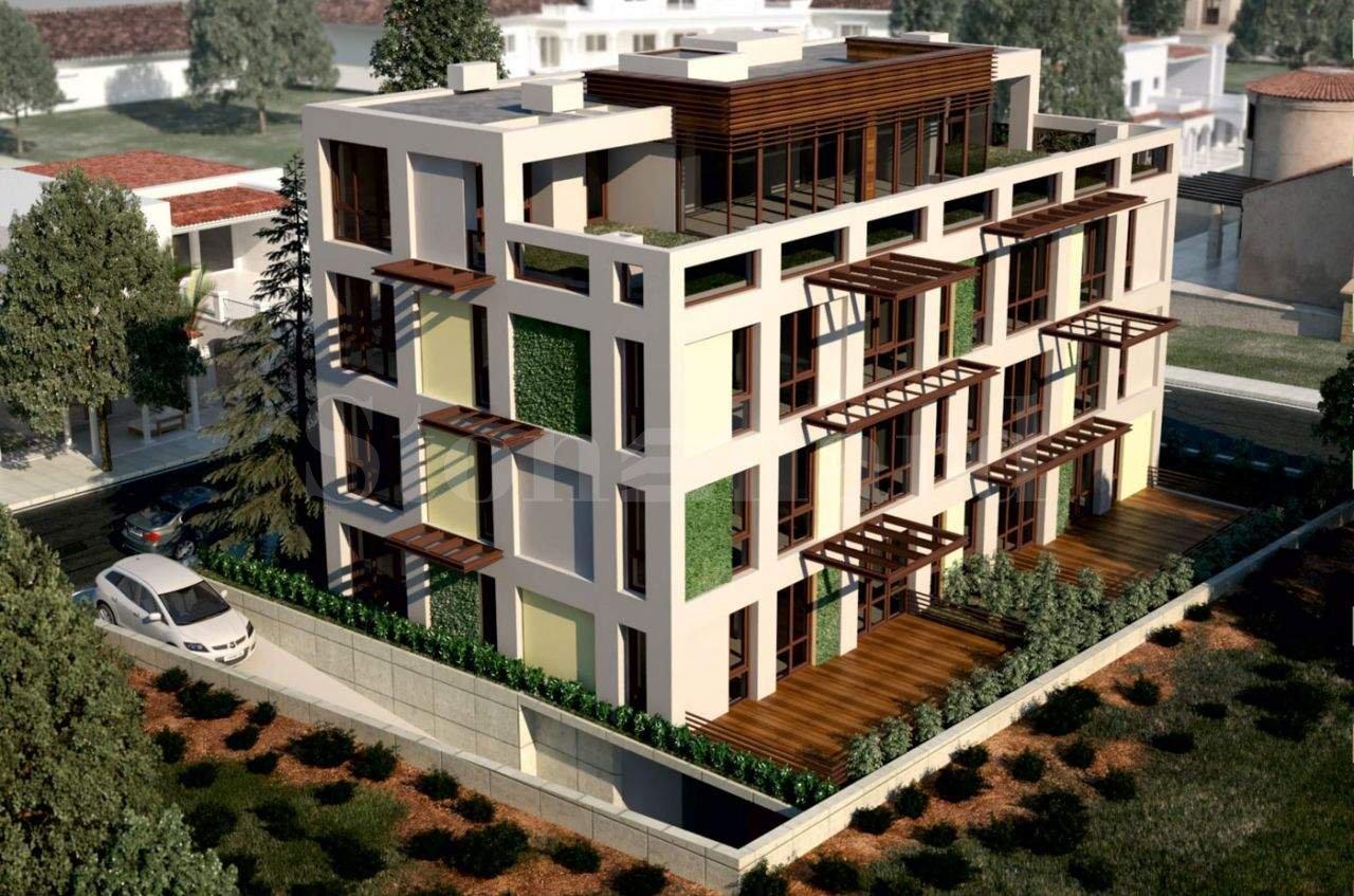 Многофамилна жилищна сграда с подземни гаражи и модерен дизайн1 - Stonehard