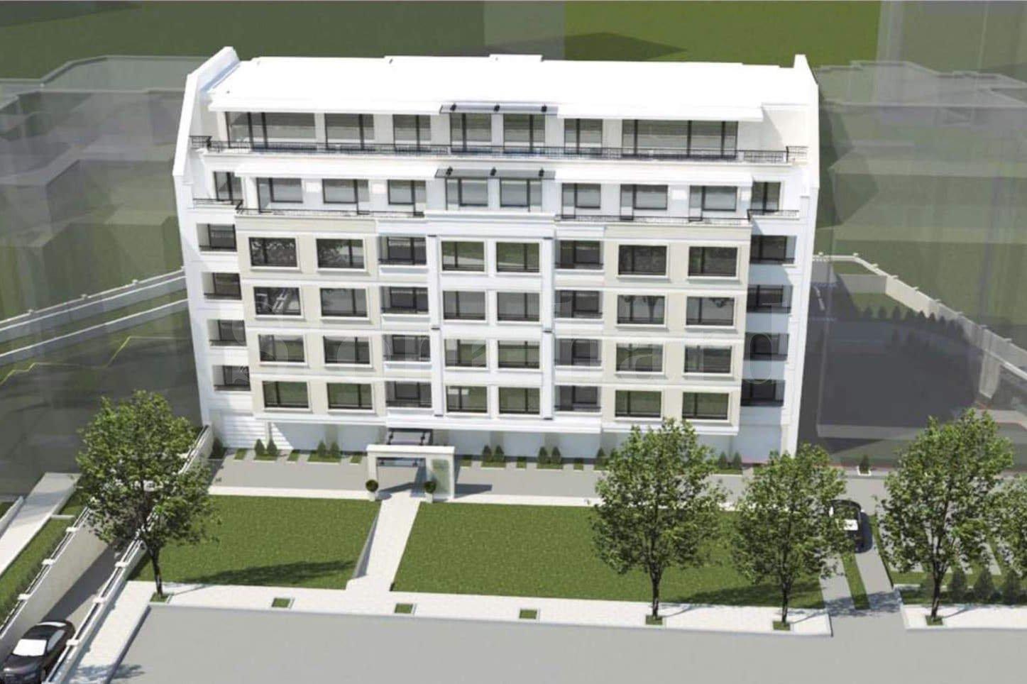 Новострояща се жилищна сграда в кв.