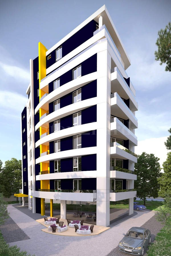Modern residential building in Lyulin-2 district2 - Stonehard