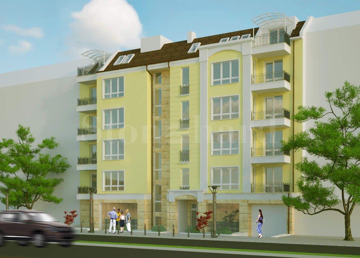 New building under construction in Nadezhda district 2 - Stonehard