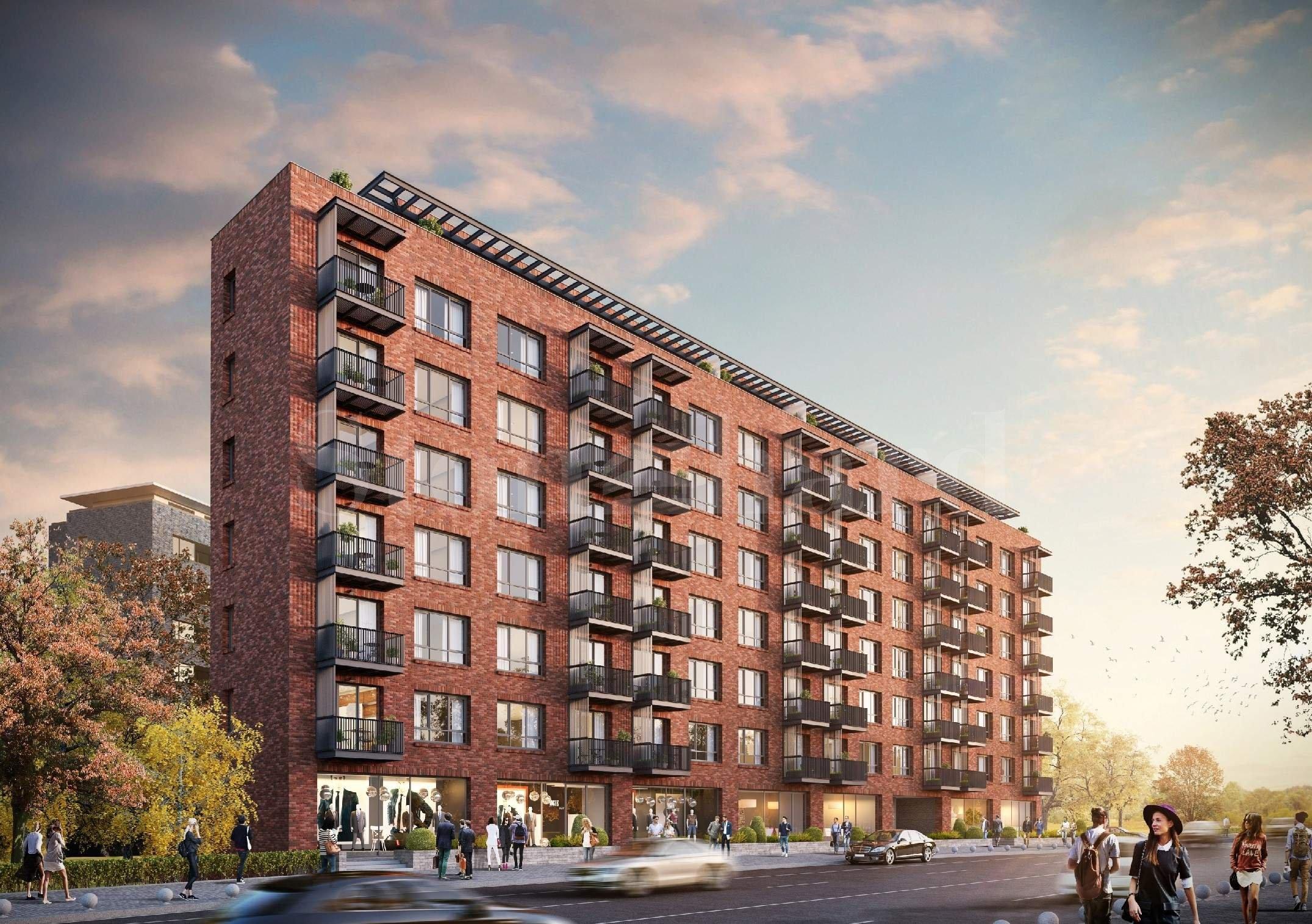 Многофамилна жилищна сграда с хармоничен дизайн и озеленен парк  2 - Stonehard