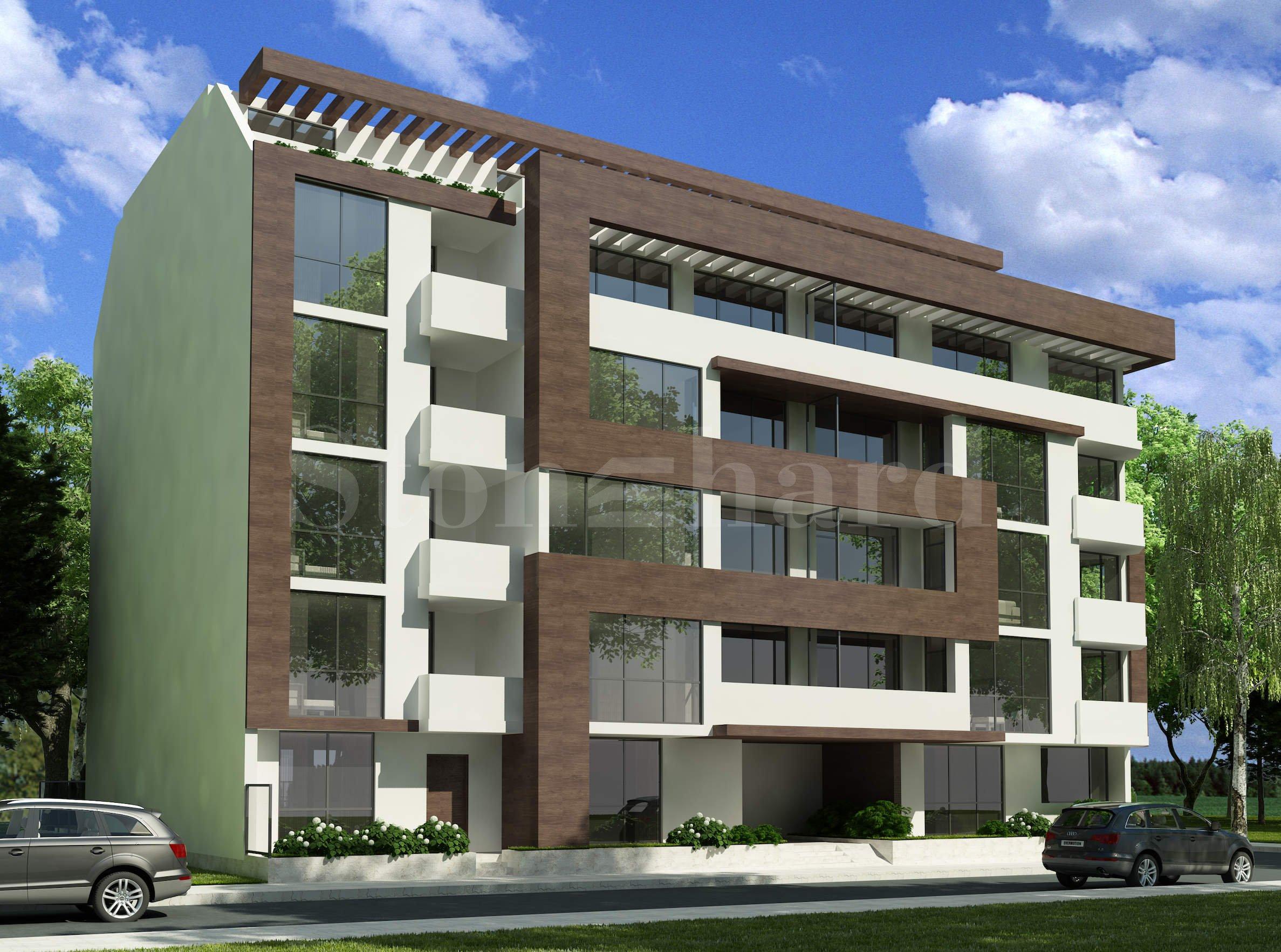 Нова жилищна сграда с апартаменти и гаражи1 - Stonehard