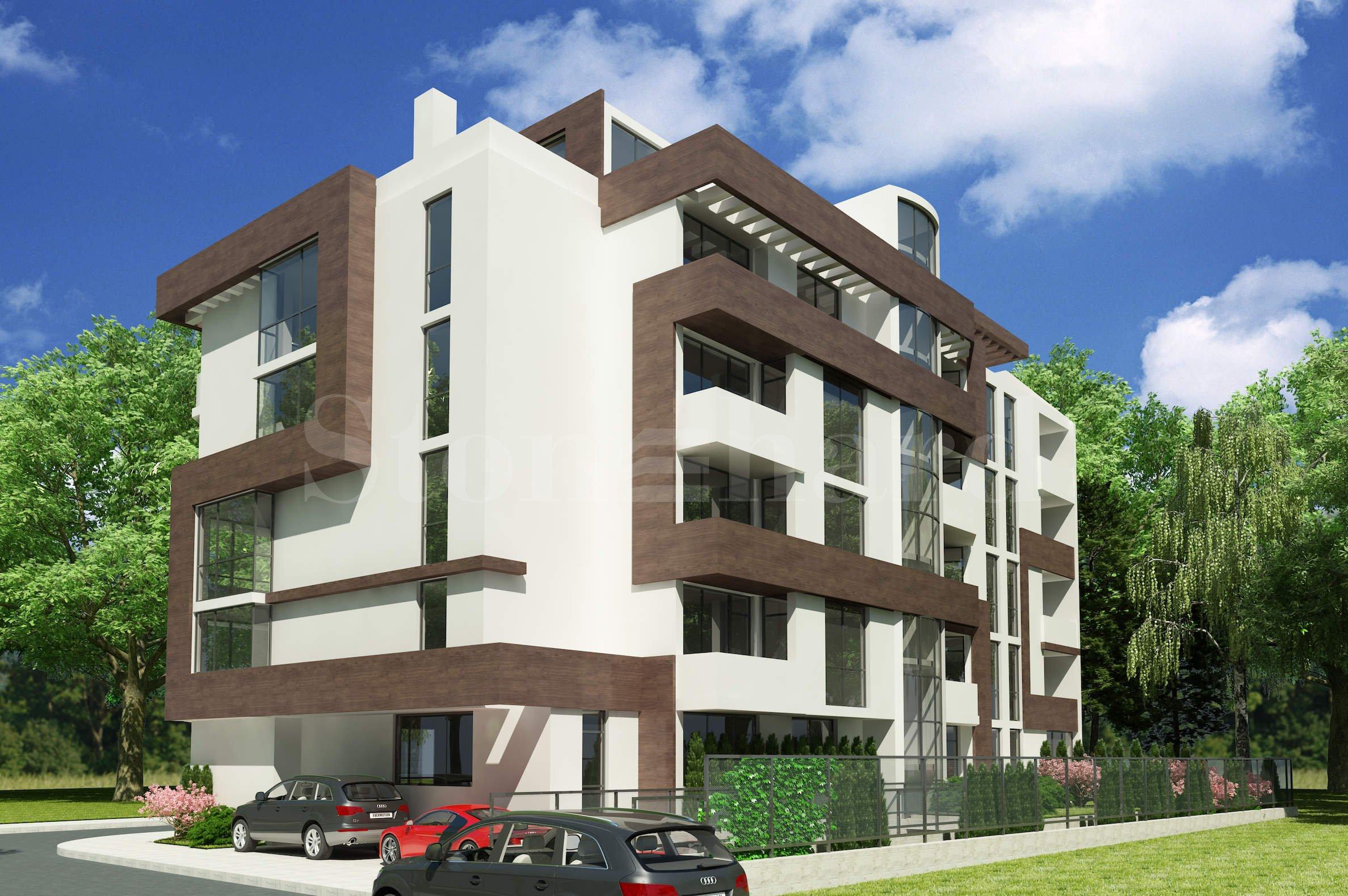 Нова жилищна сграда с апартаменти и гаражи2 - Stonehard