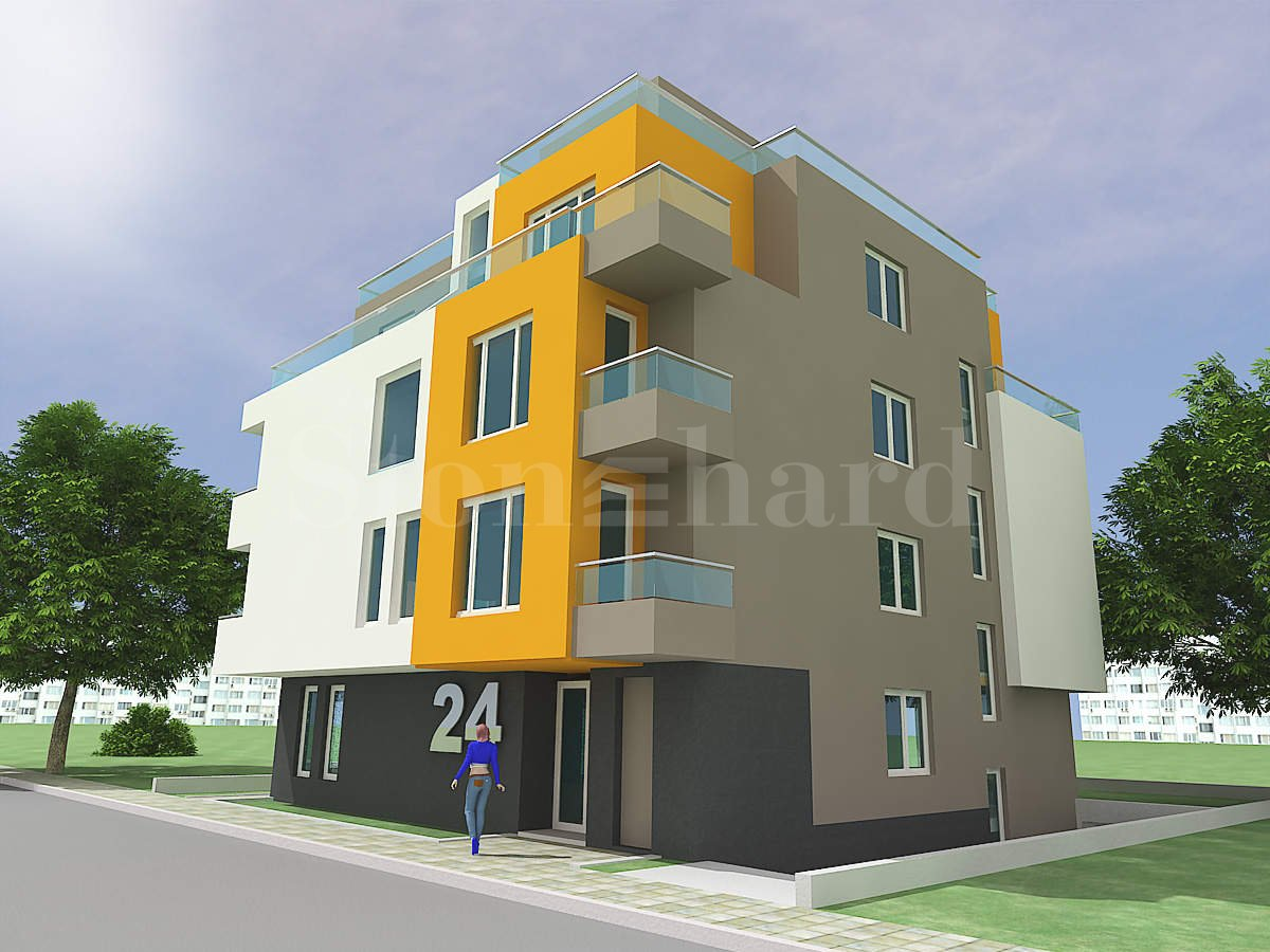 Residential building with apartments near Paradise Center Mall2 - Stonehard