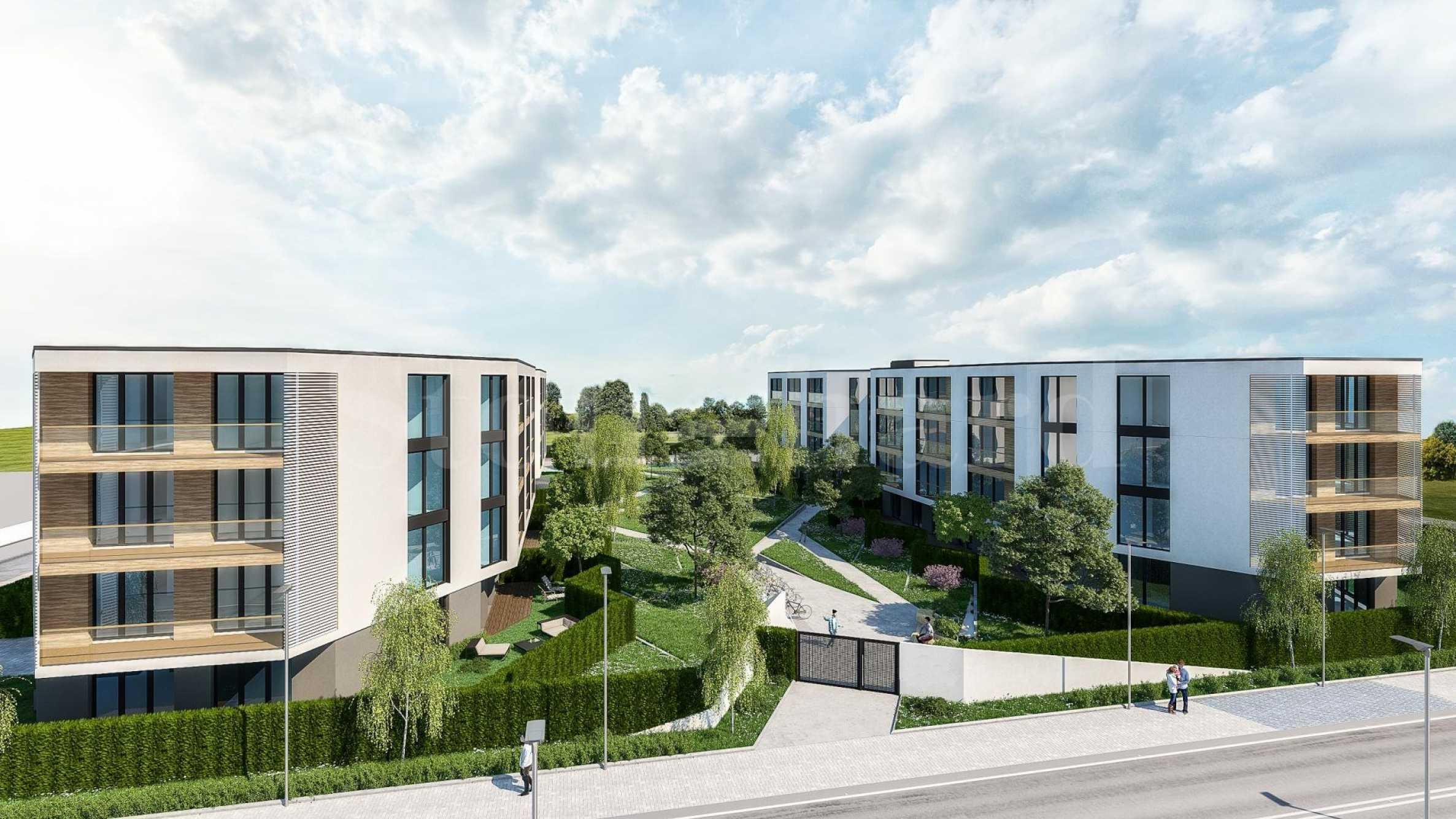 Модерен комплекс с комфортни апартаменти на 100 метра от плажа1 - Stonehard