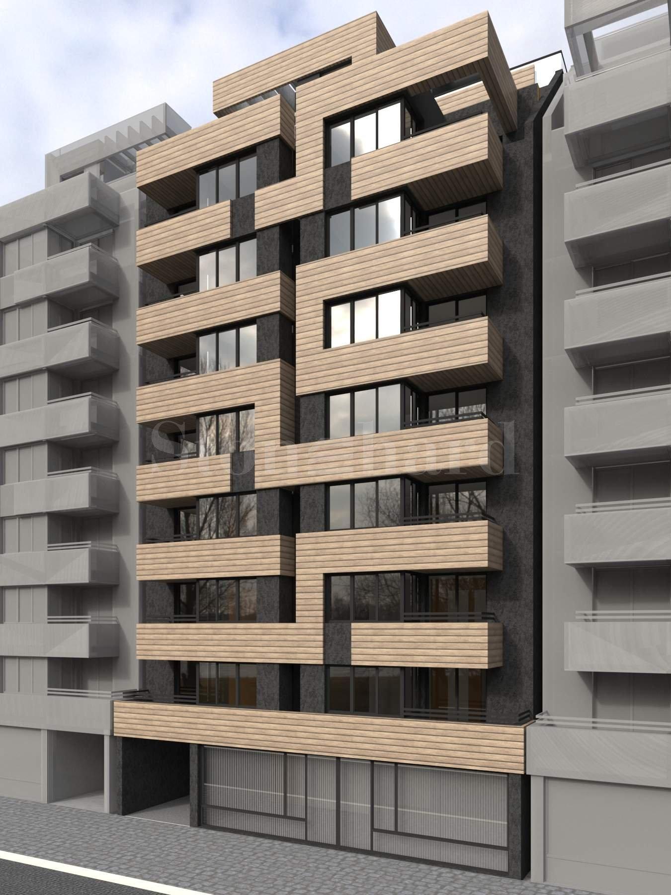 Новострояща се жилищна сграда с централна локация, гр. София1 - Stonehard