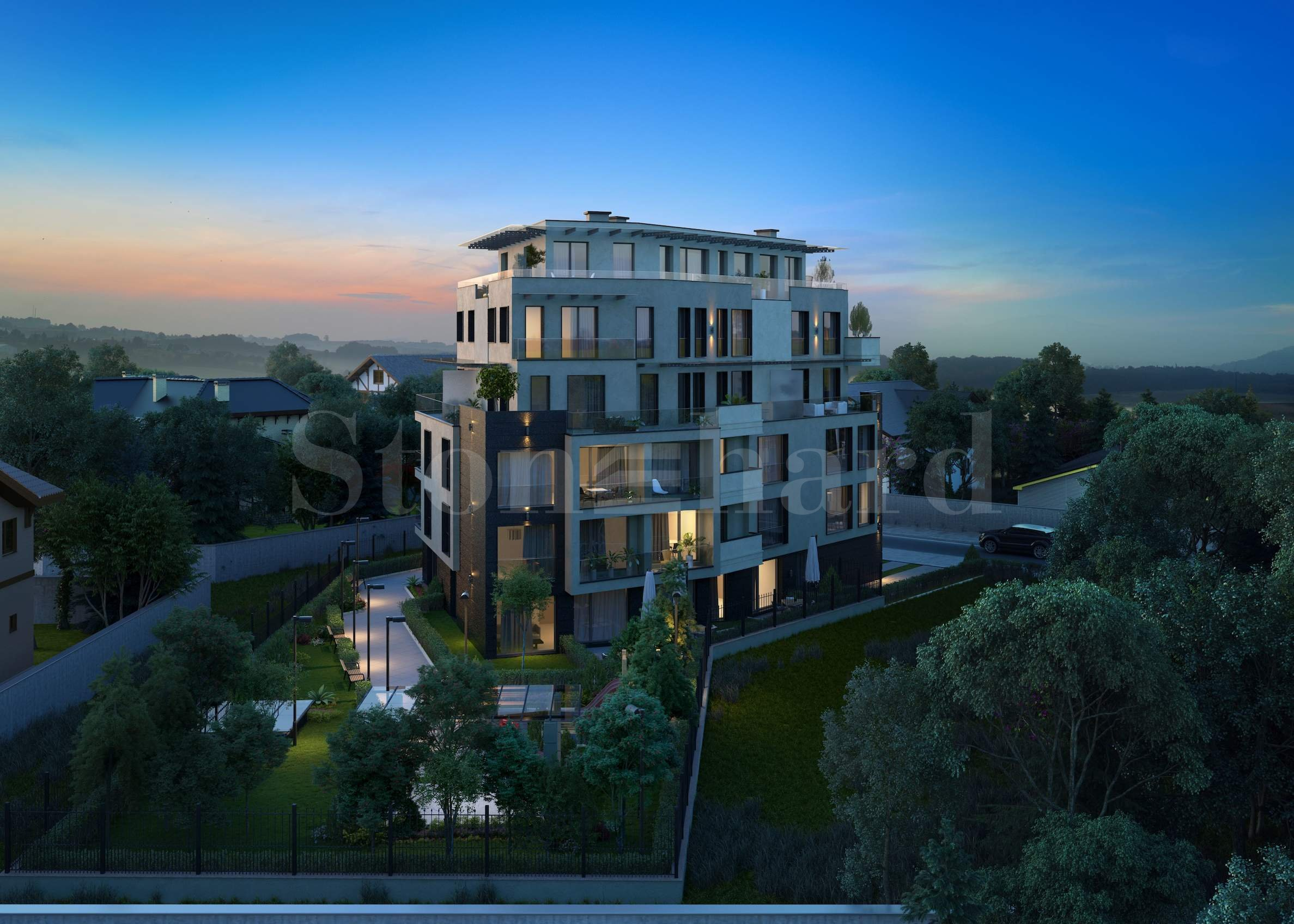 New residential building in a prestigious district of Sofia city1 - Stonehard
