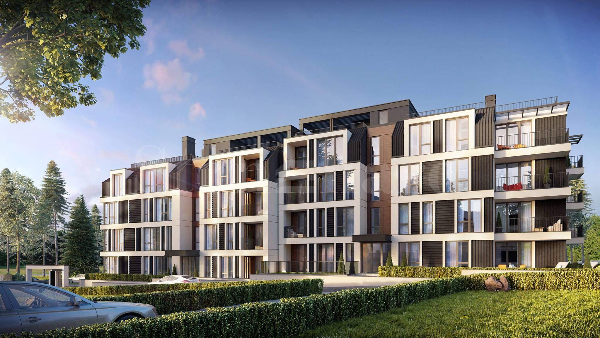 Residential luxury building in a calm area near the mountain2 - Stonehard