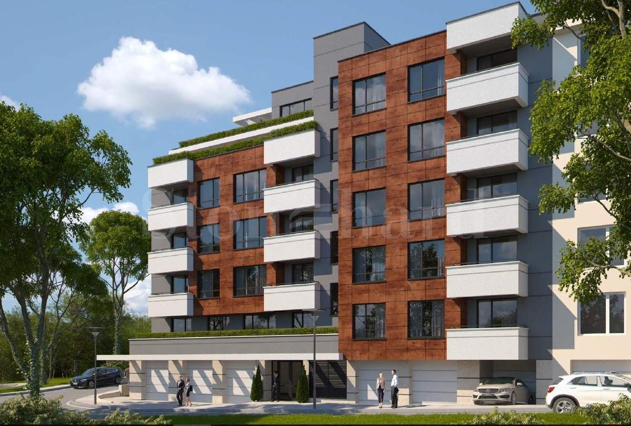 Luxury residential building meters from South Park, Lozenets1 - Stonehard